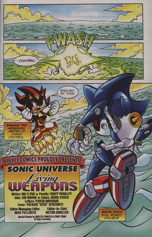 Read online Sonic Universe comic -  Issue #1 - 2
