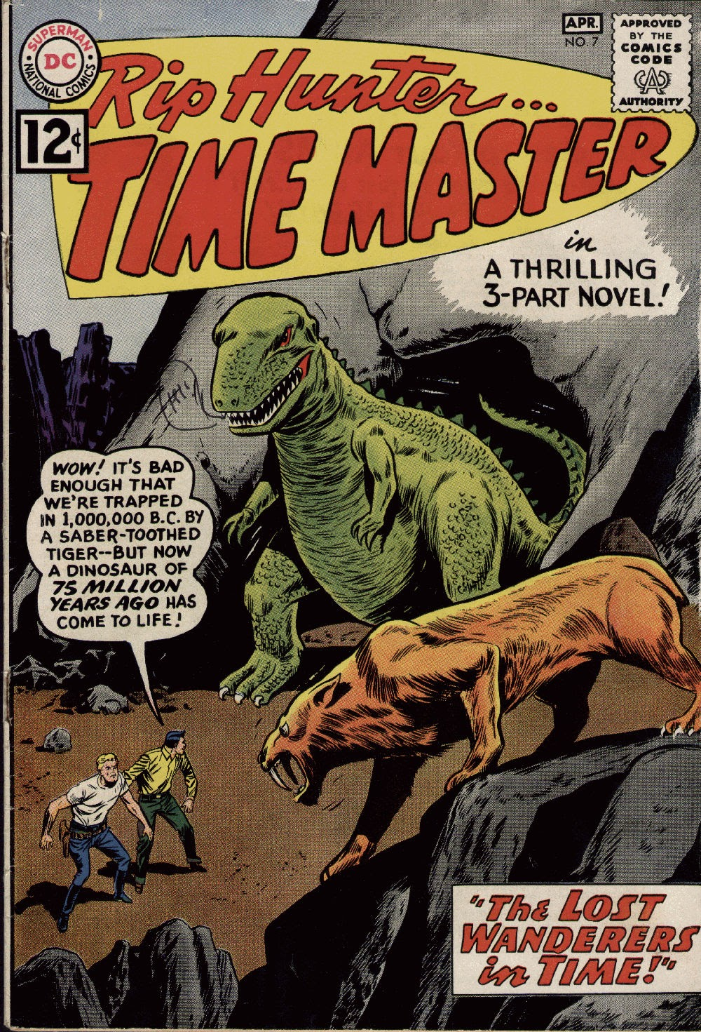 Rip Hunter...Time Master 7 Page 1