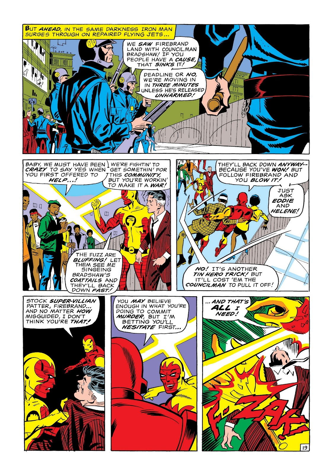 Read online Marvel Masterworks: The Invincible Iron Man comic -  Issue # TPB 7 (Part 1) - 47