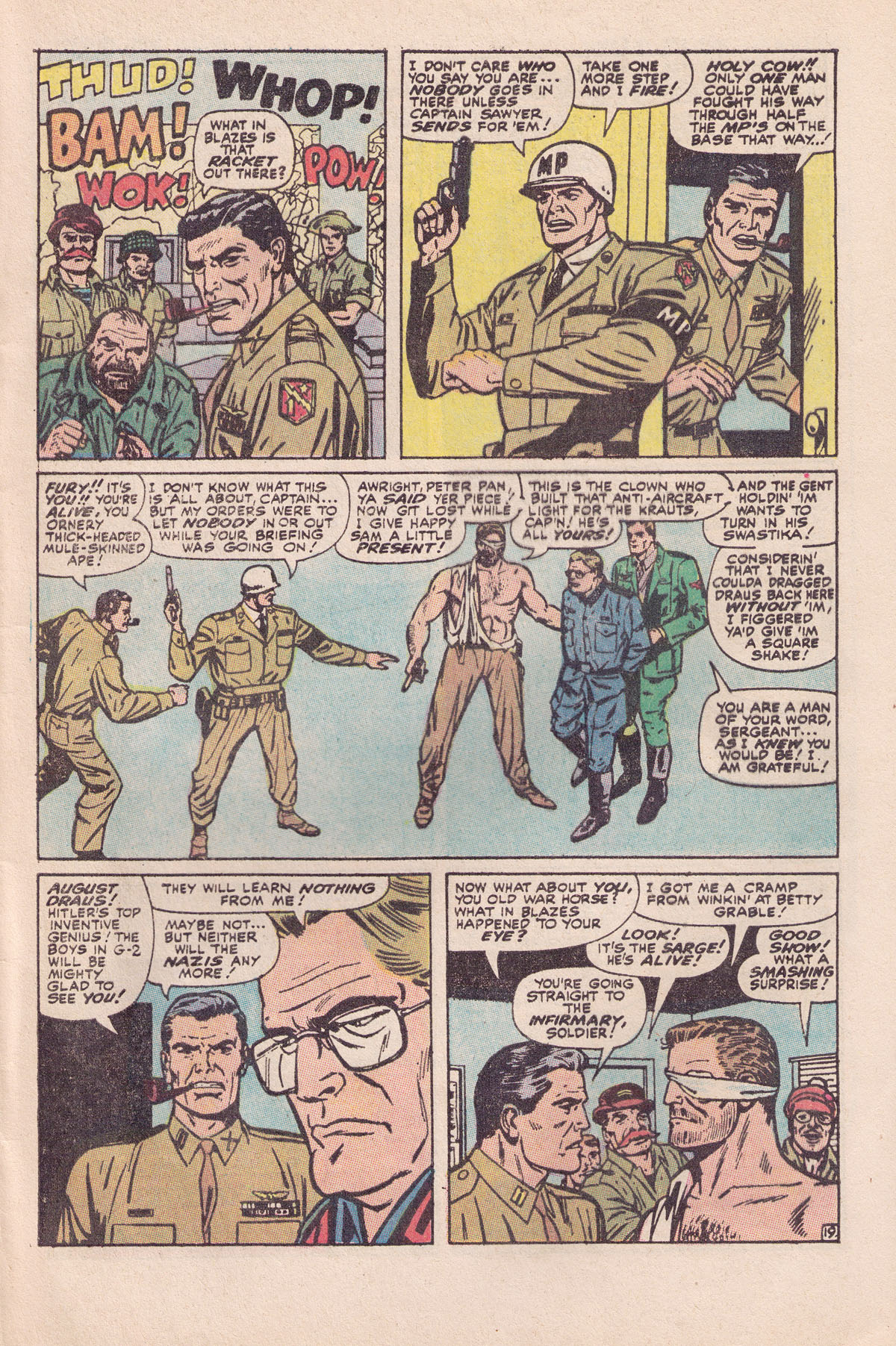 Read online Sgt. Fury comic -  Issue #89 - 29