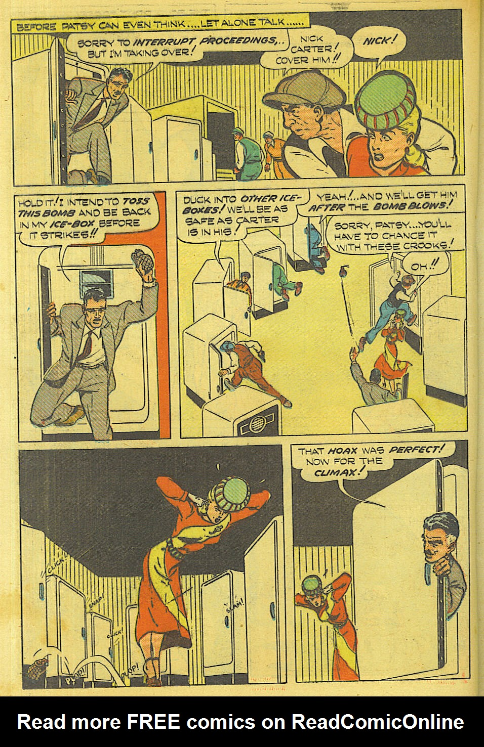 Read online Shadow Comics comic -  Issue #87 - 29
