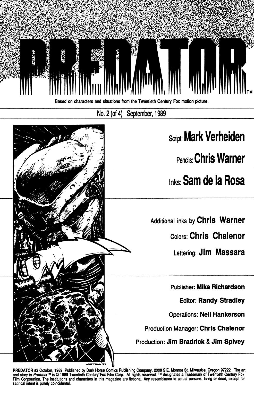 Predator (1989) issue 2 - Page 2