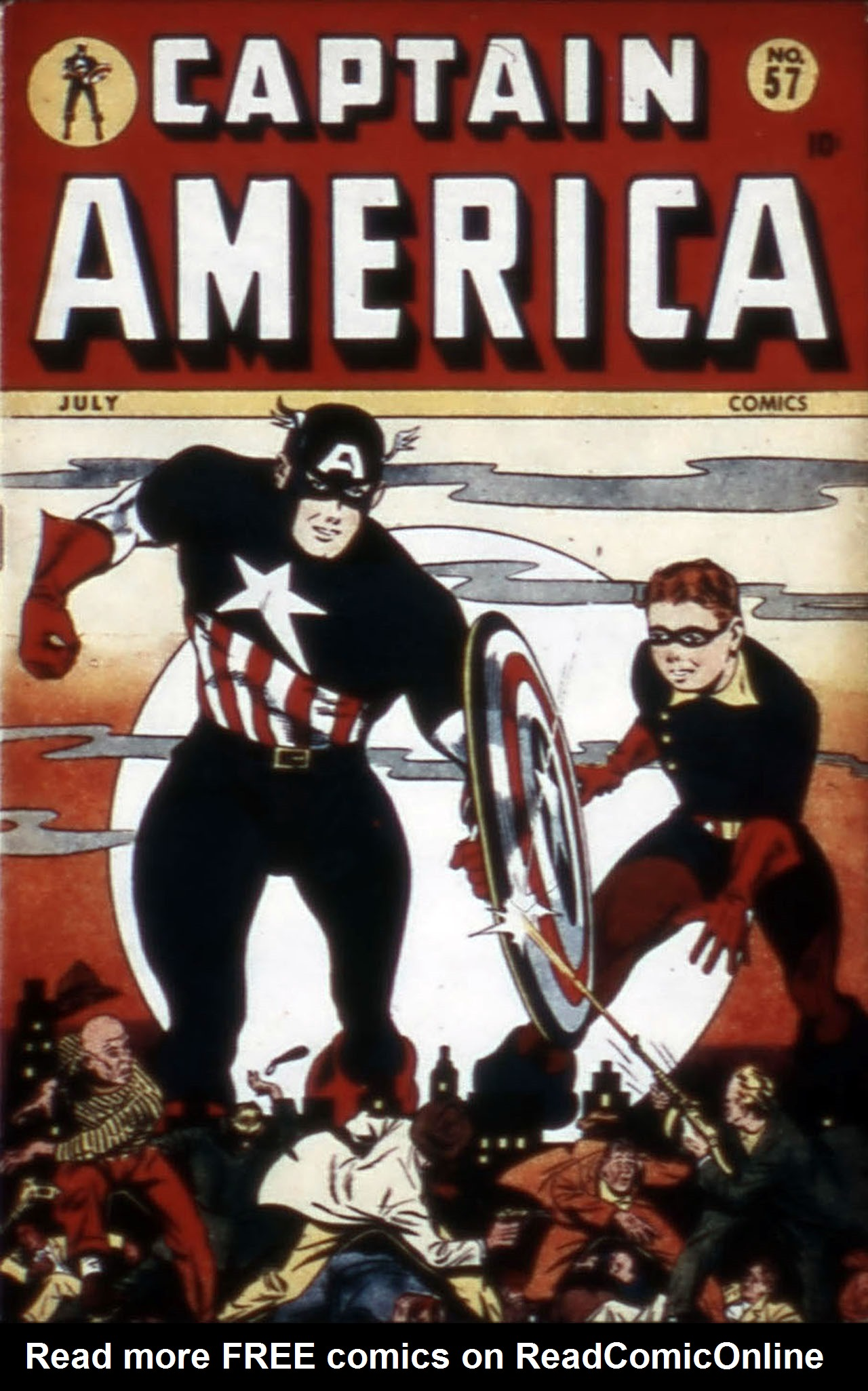 Captain America Comics 57 Page 1