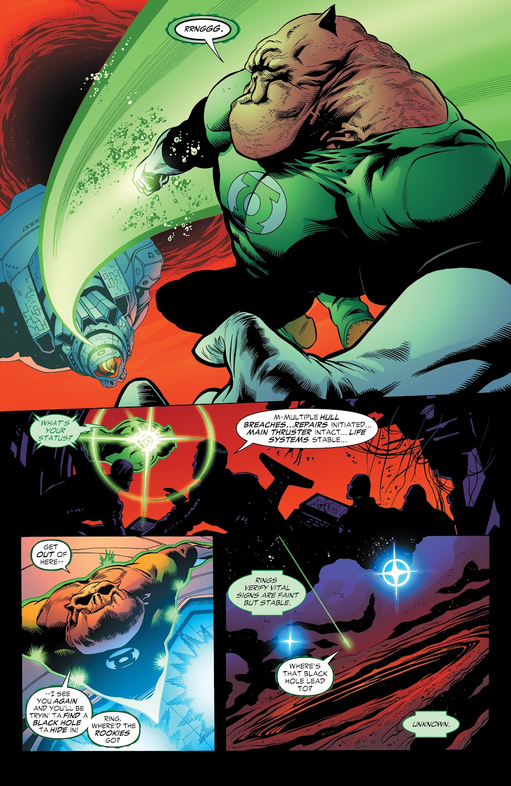 Read online Green Lantern by Geoff Johns comic -  Issue # TPB 1 (Part 3) - 24