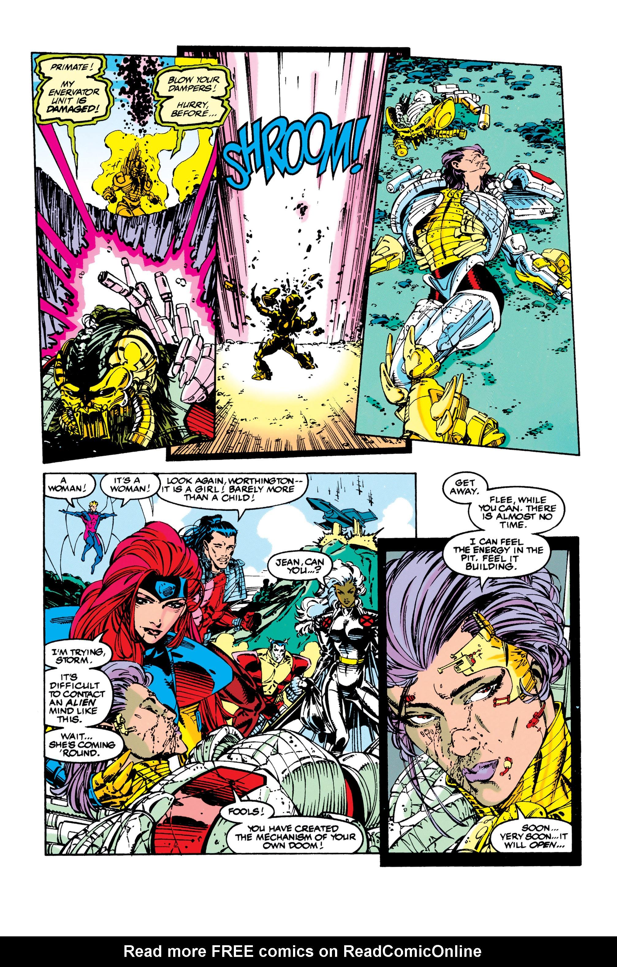 Read online Uncanny X-Men (1963) comic -  Issue #284 - 16