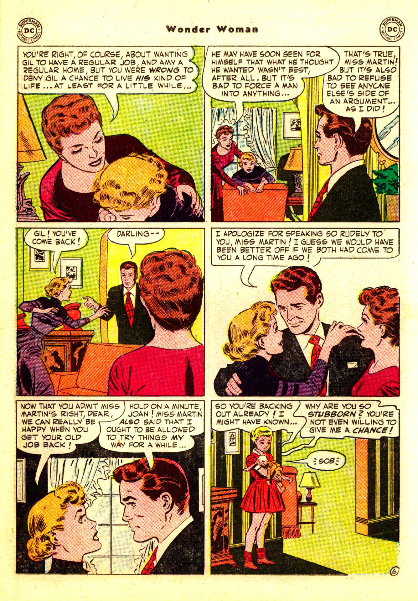 Read online Wonder Woman (1942) comic -  Issue #50 - 22