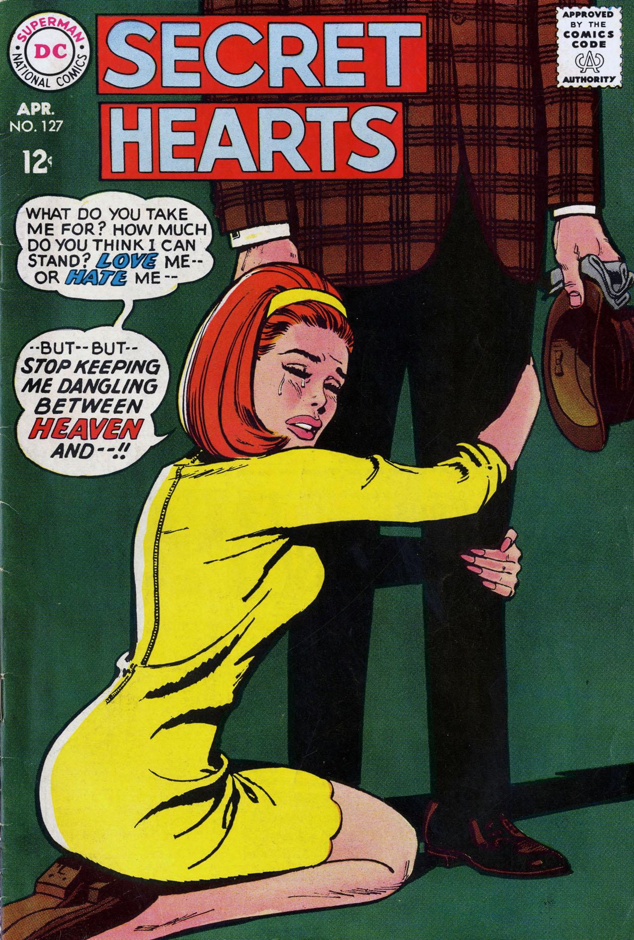 Read online Secret Hearts comic -  Issue #127 - 1