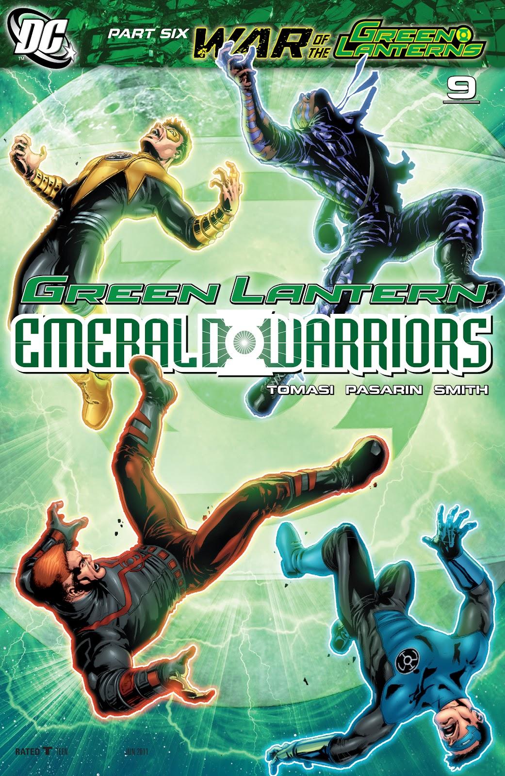 Green Lantern: Emerald Warriors 9 Page 1