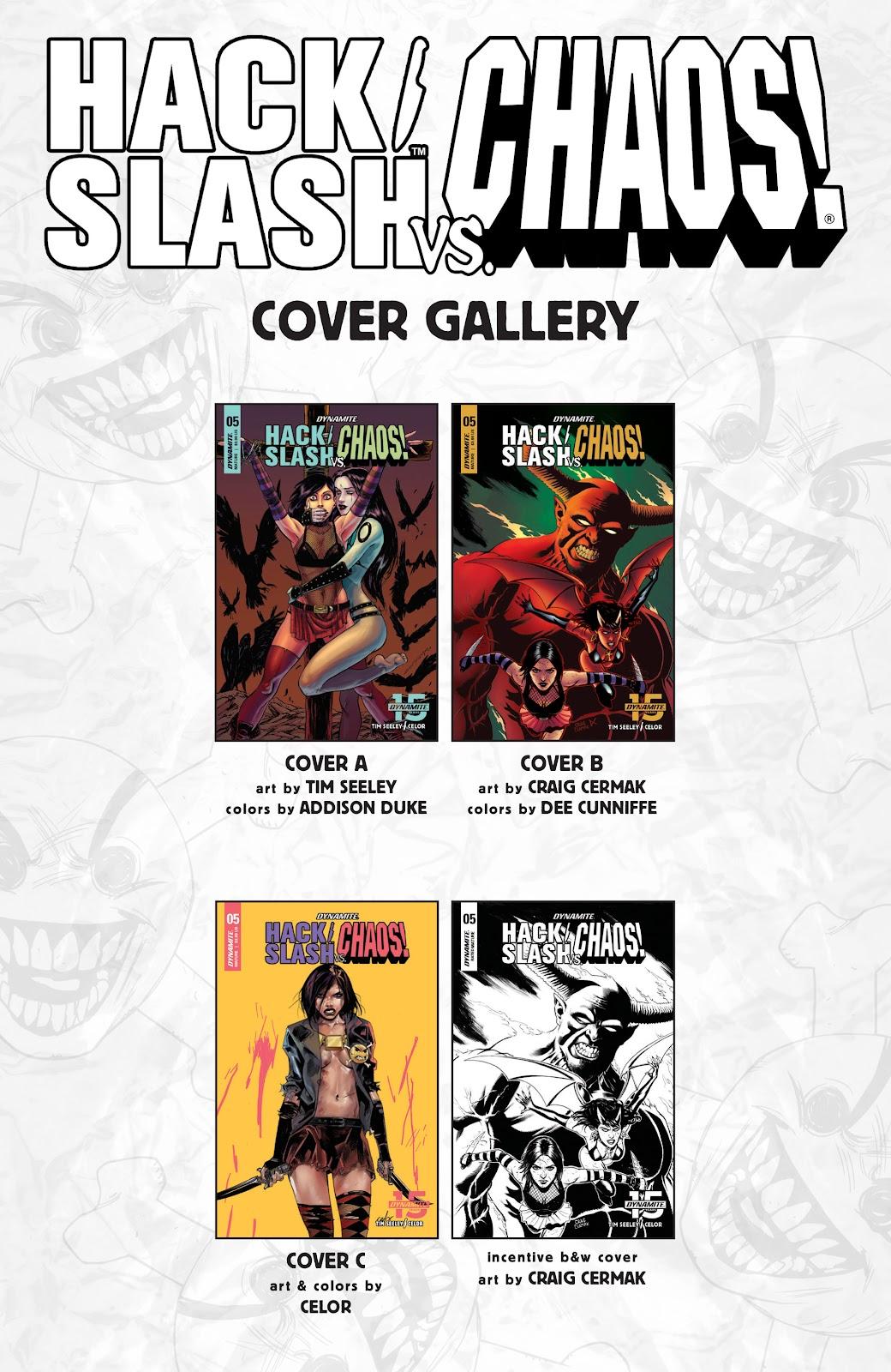 Read online Hack/Slash vs. Chaos comic -  Issue #5 - 25