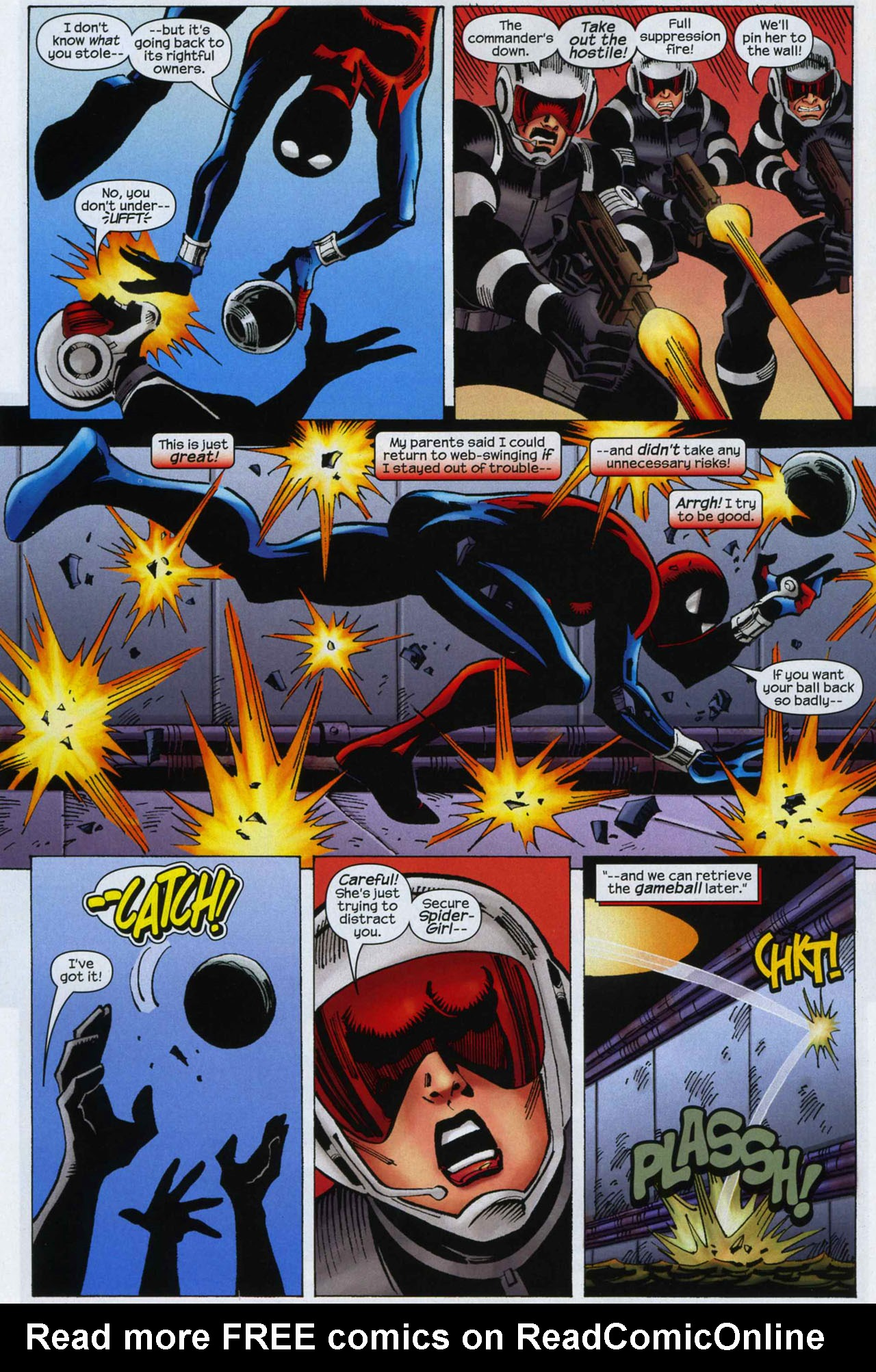 Read online Amazing Spider-Girl comic -  Issue #9 - 20
