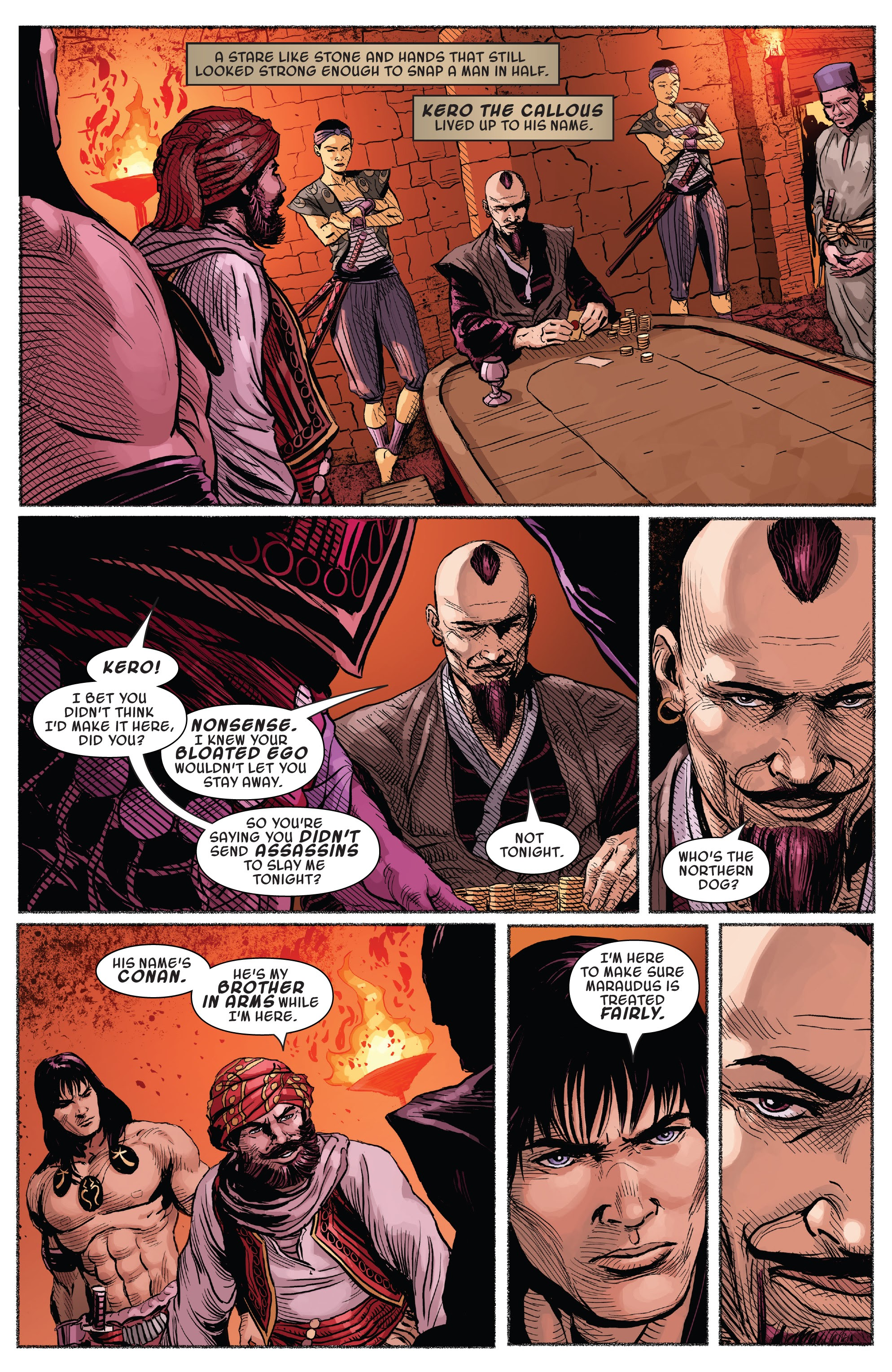 Read online Savage Sword of Conan comic -  Issue #7 - 16