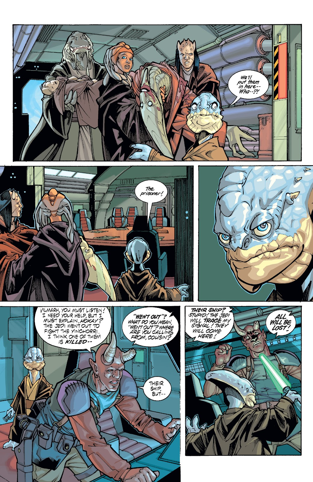 Read online Star Wars Legends: Rise of the Sith - Epic Collection comic -  Issue # TPB 1 (Part 5) - 40