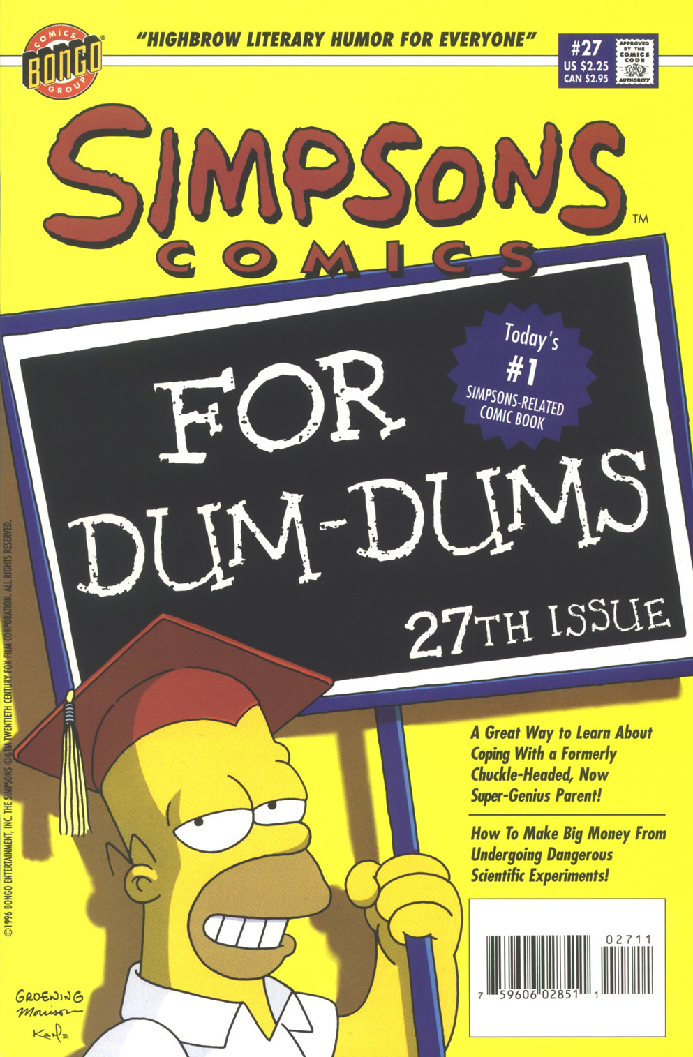 Read online Simpsons Comics comic -  Issue #27 - 1