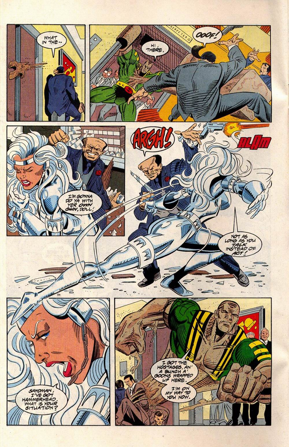 Read online Silver Sable and the Wild Pack comic -  Issue #33 - 16
