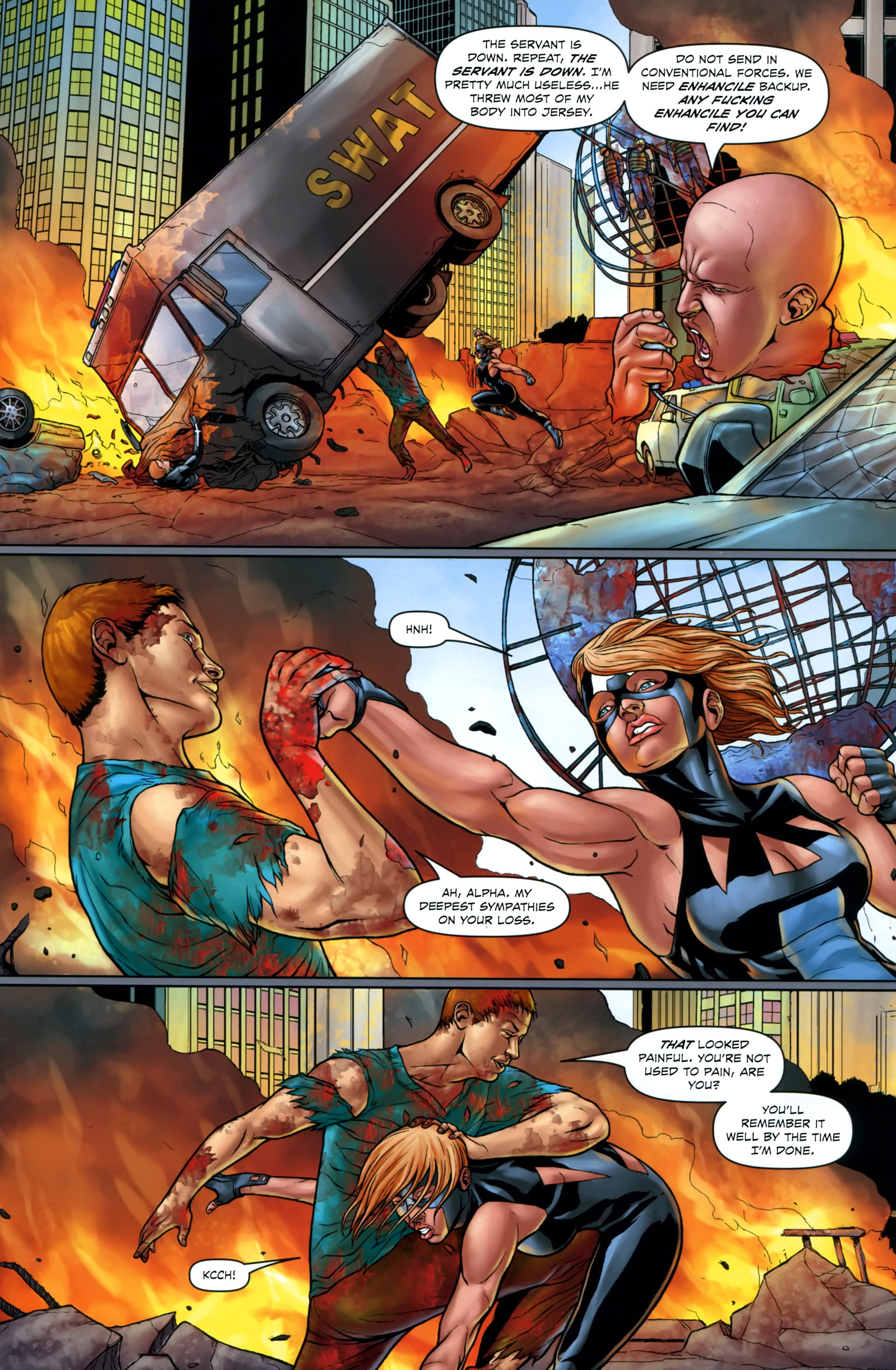 Read online Absolution: Rubicon comic -  Issue #2 - 10