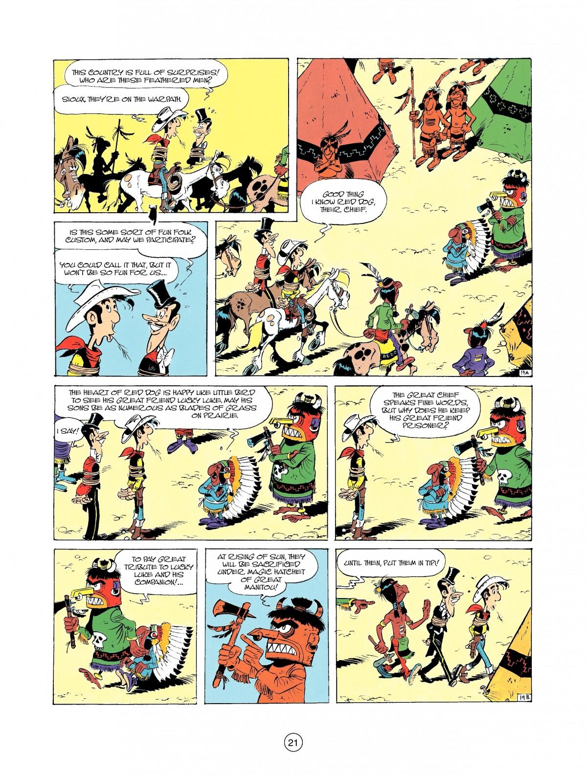 Read online A Lucky Luke Adventure comic -  Issue #37 - 21