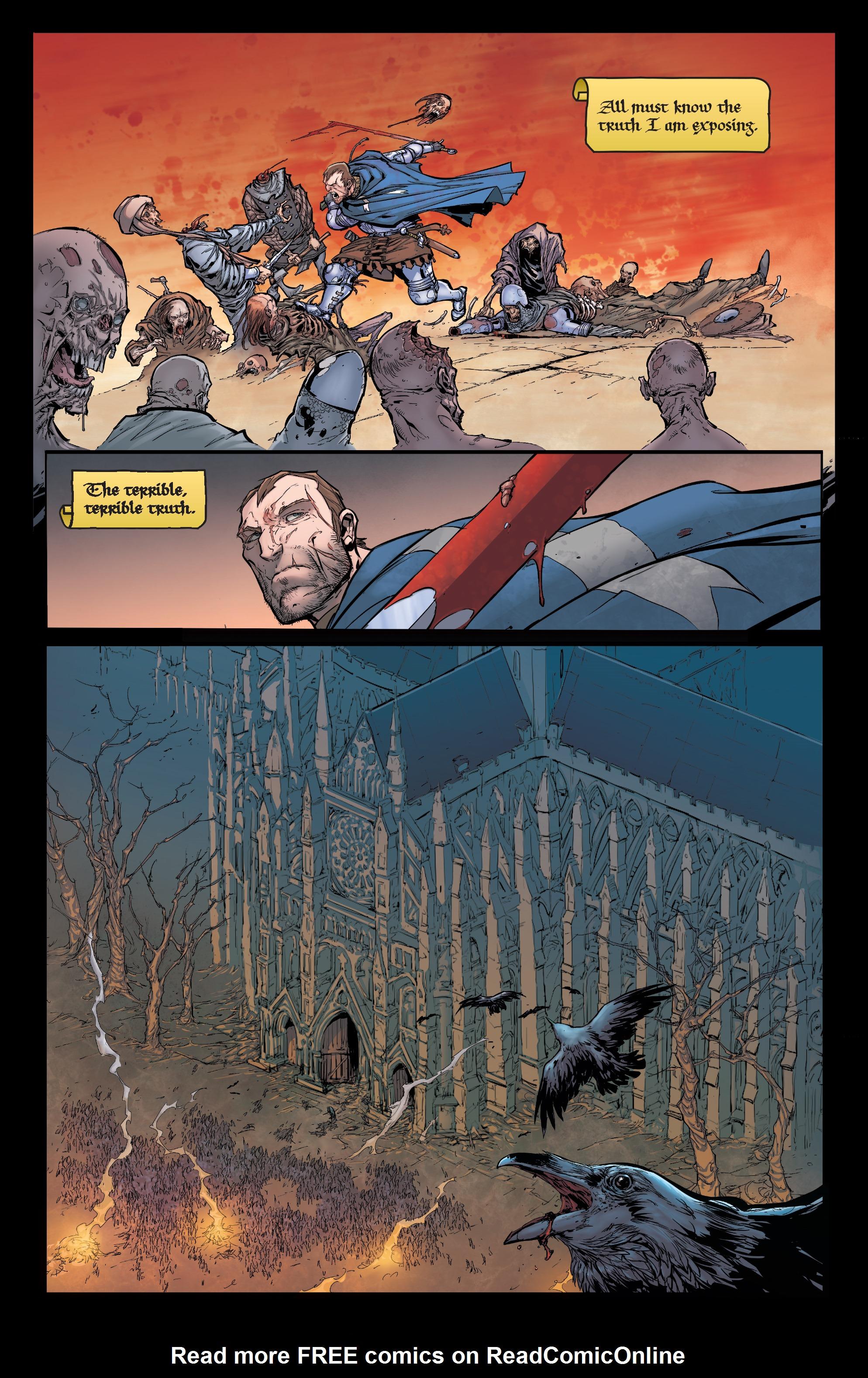 Read online Pestilence comic -  Issue #1 - 6