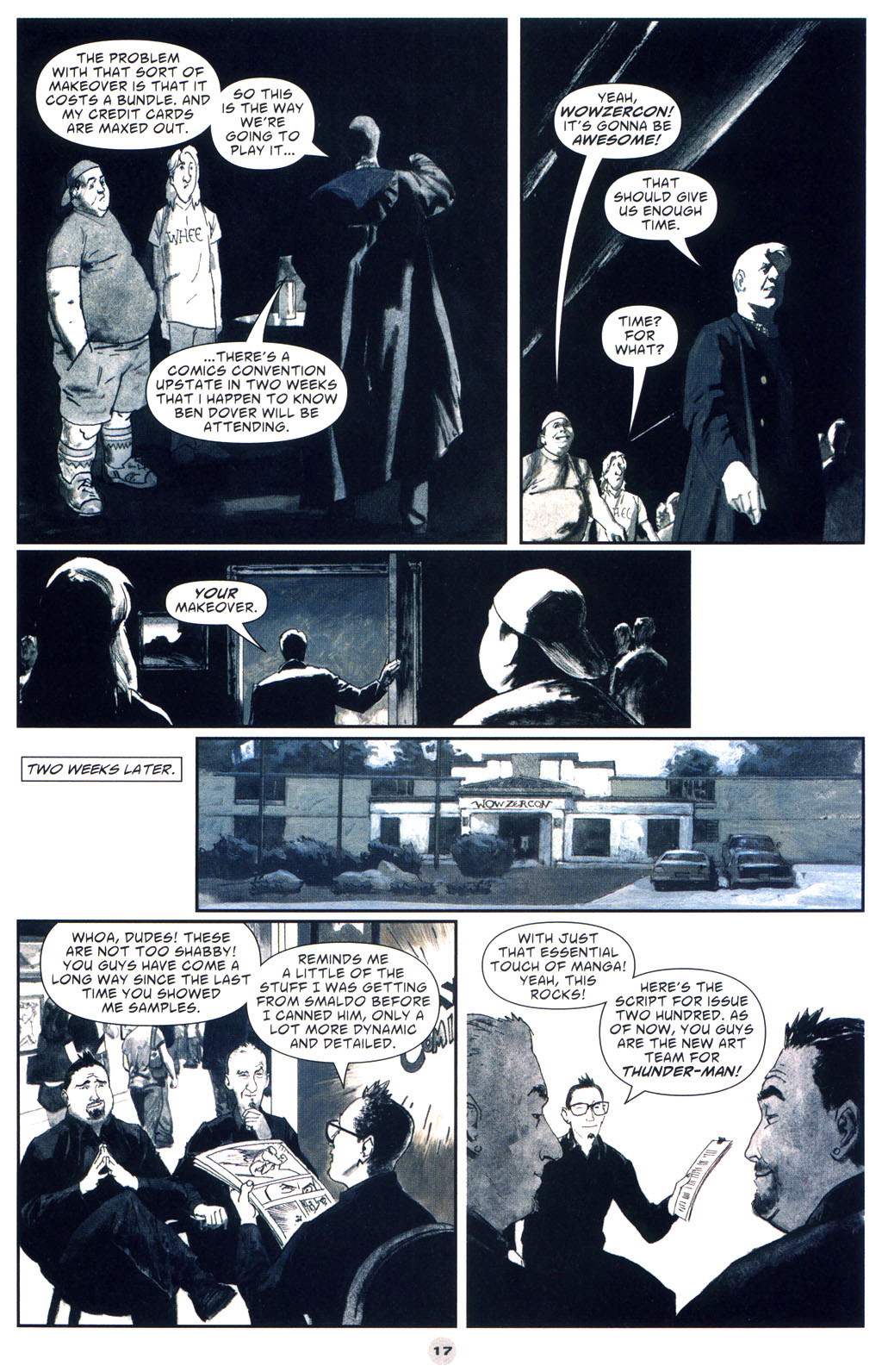 Read online Solo (2004) comic -  Issue #9 - 18