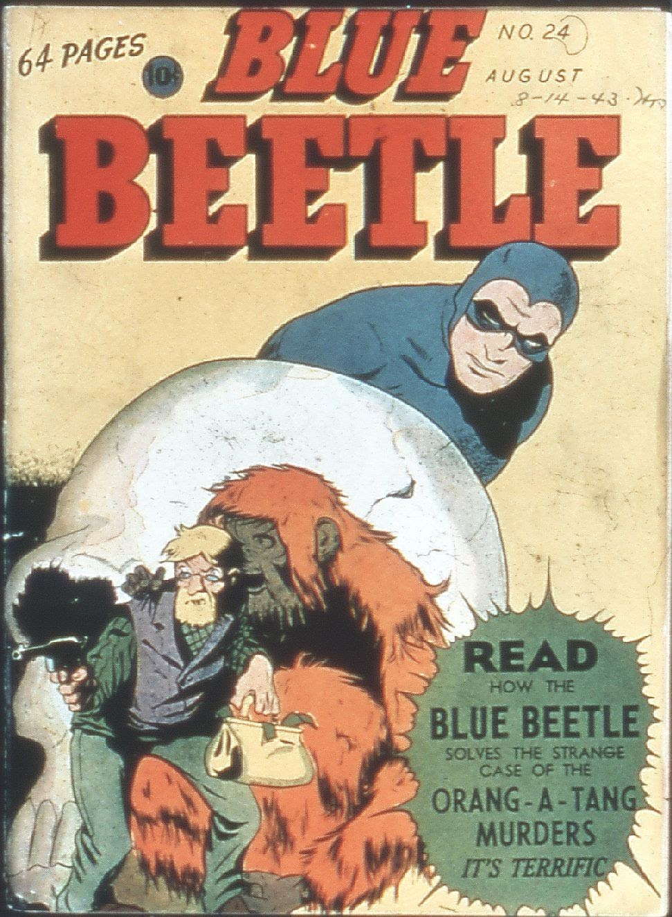 The Blue Beetle issue 24 - Page 1