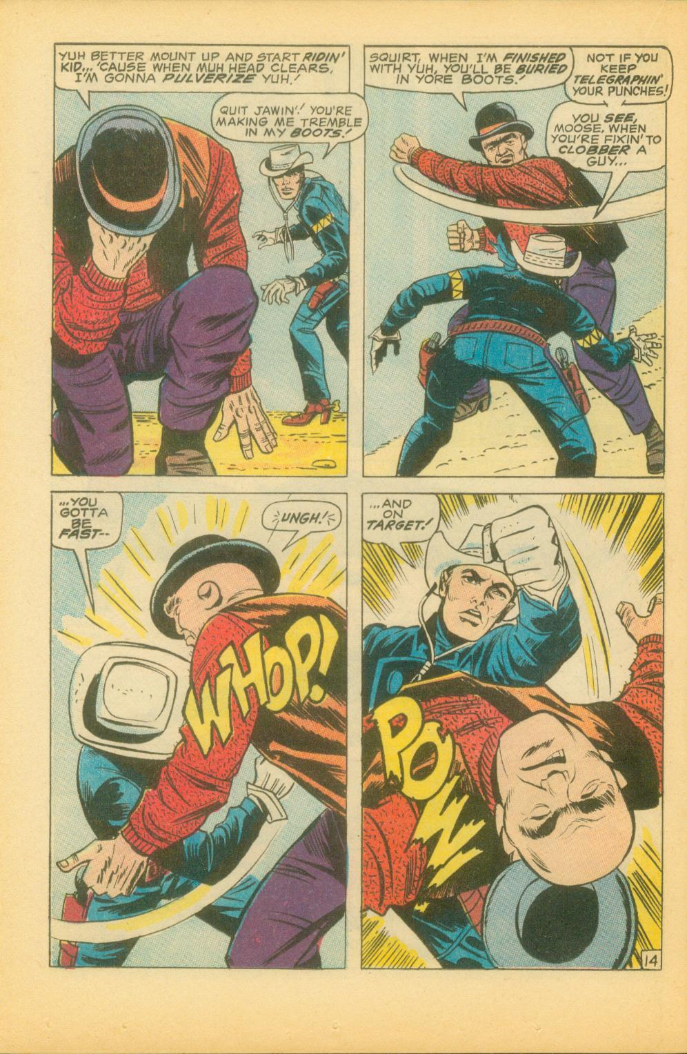 The Rawhide Kid (1955) issue 73 - Page 25