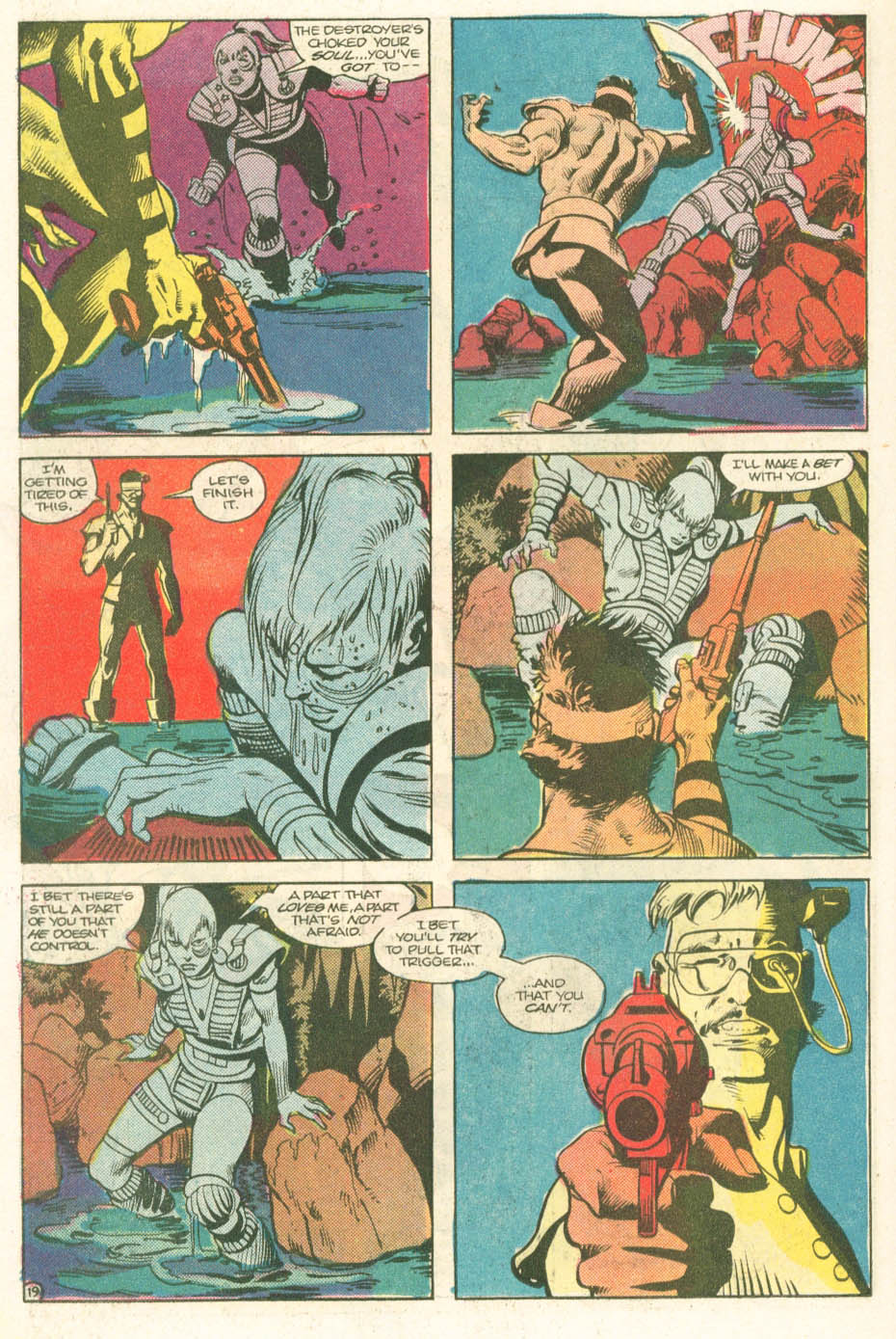 Read online Atari Force (1984) comic -  Issue #11 - 21