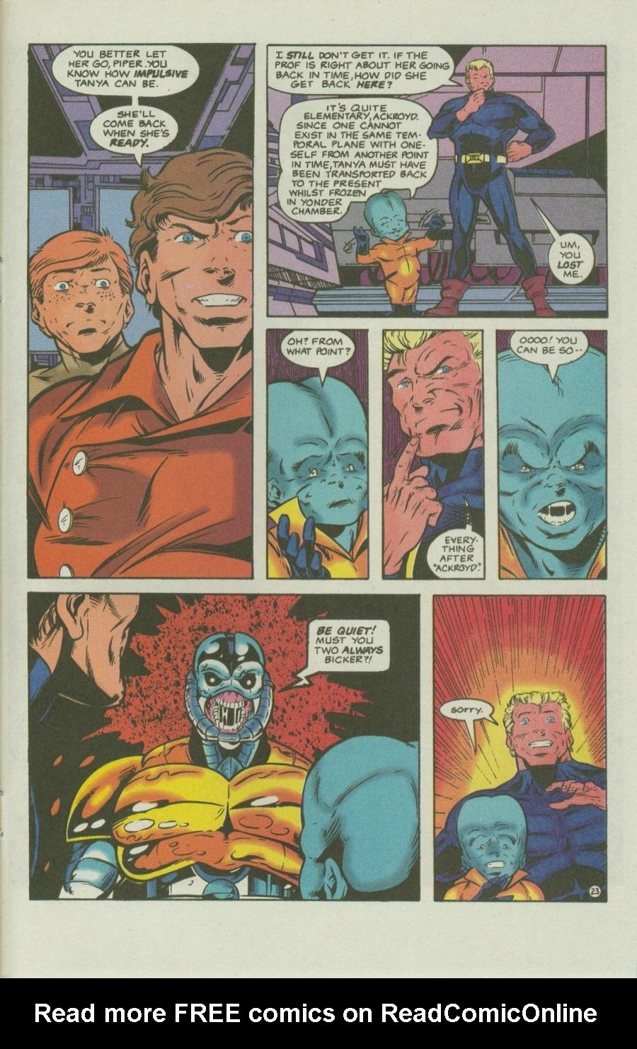 Read online Ex-Mutants comic -  Issue #8 - 28