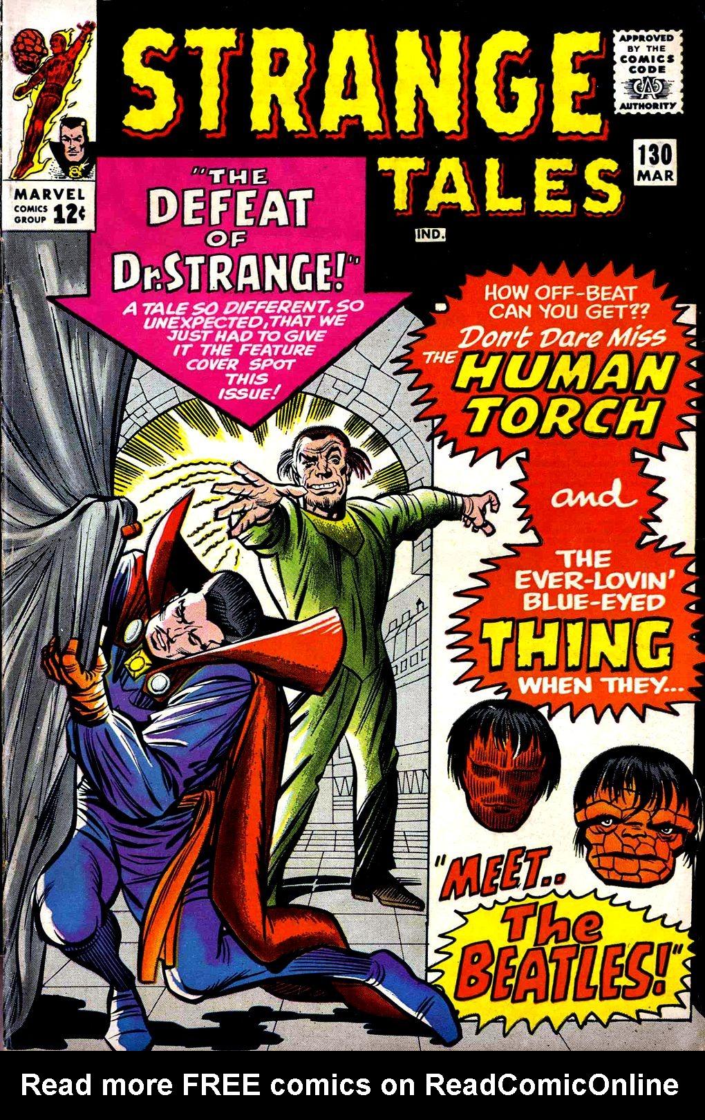 Strange Tales (1951) 130 Page 1