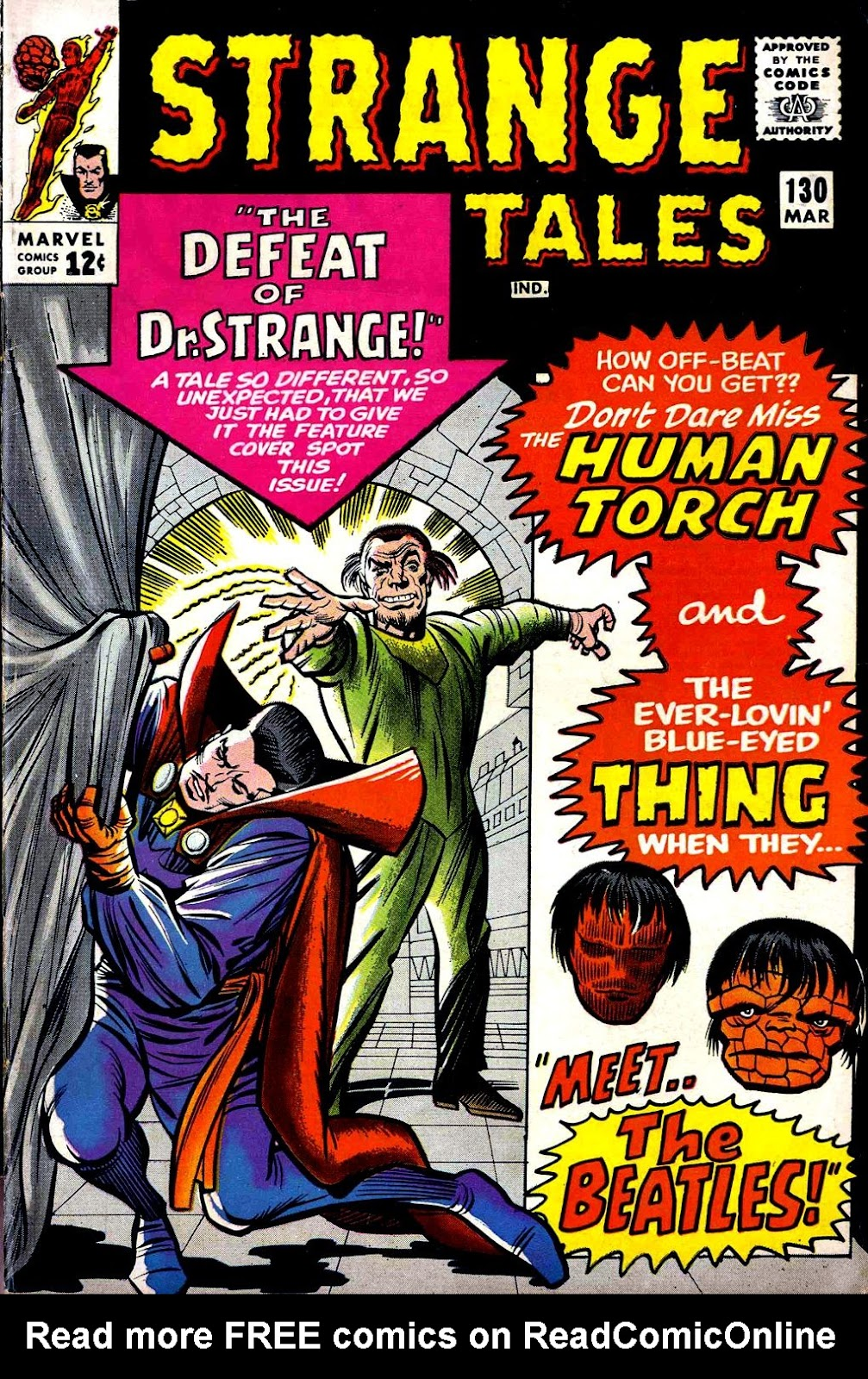 Strange Tales (1951) issue 130 - Page 1