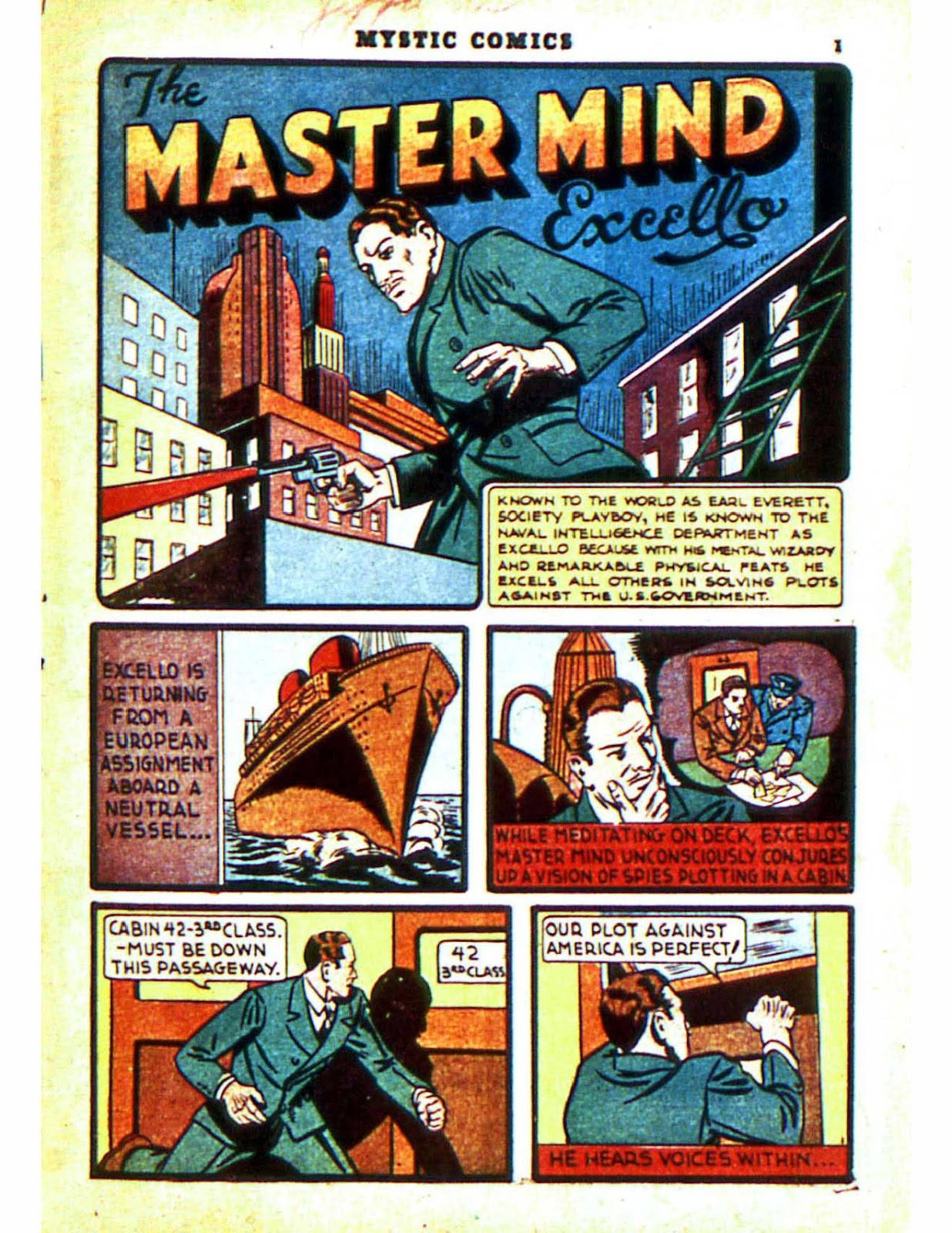 Mystic Comics (1940) issue 2 - Page 3