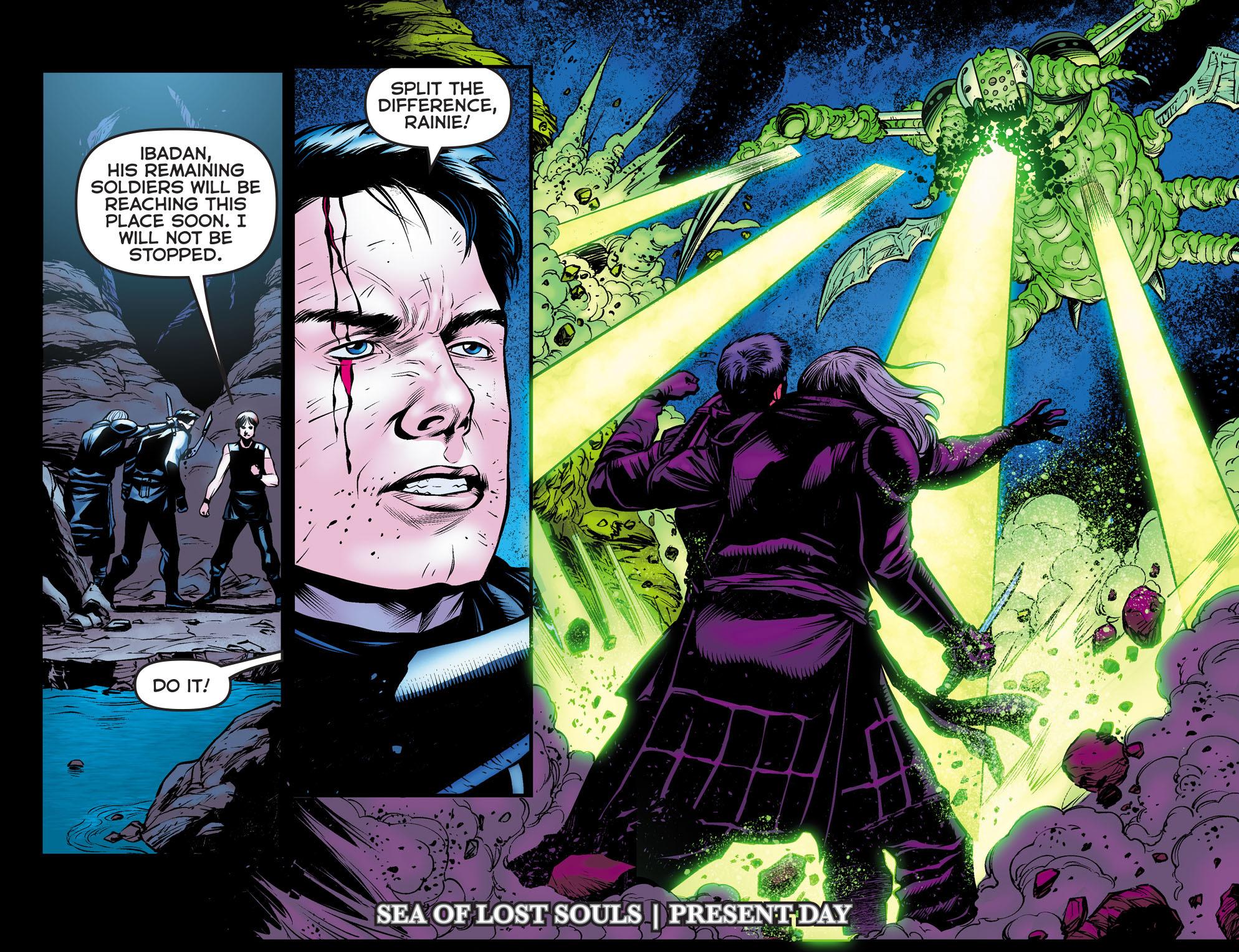 Read online Arrow: The Dark Archer comic -  Issue #11 - 19
