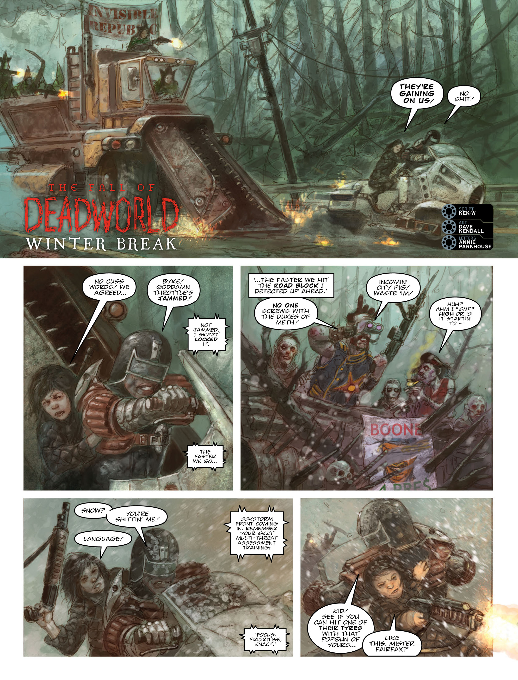 Read online 2000 AD comic -  Issue #2011 - 57