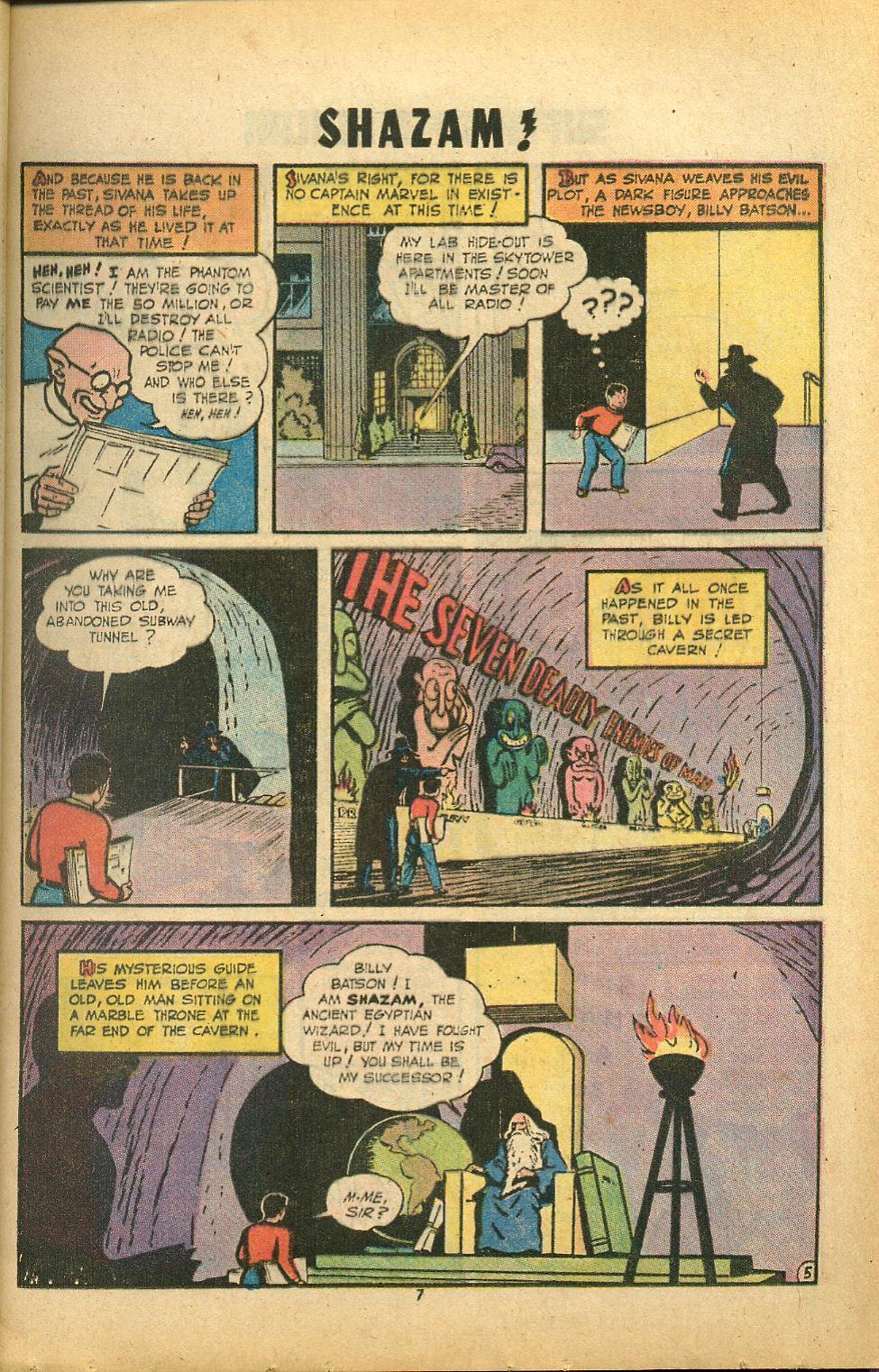 Read online Shazam! (1973) comic -  Issue #8 - 7