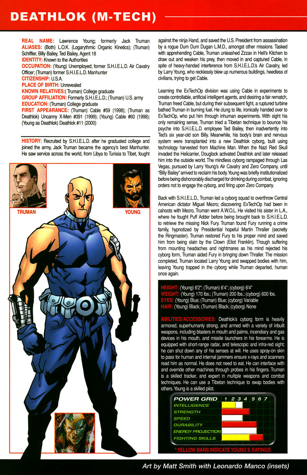 Read online All-New Official Handbook of the Marvel Universe A to Z comic -  Issue #3 - 32