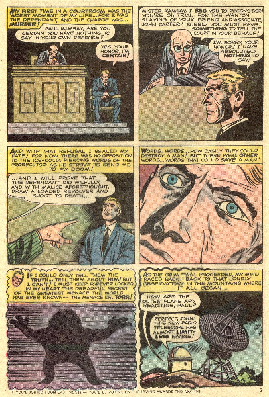 Strange Tales (1951) issue 175 - Page 3