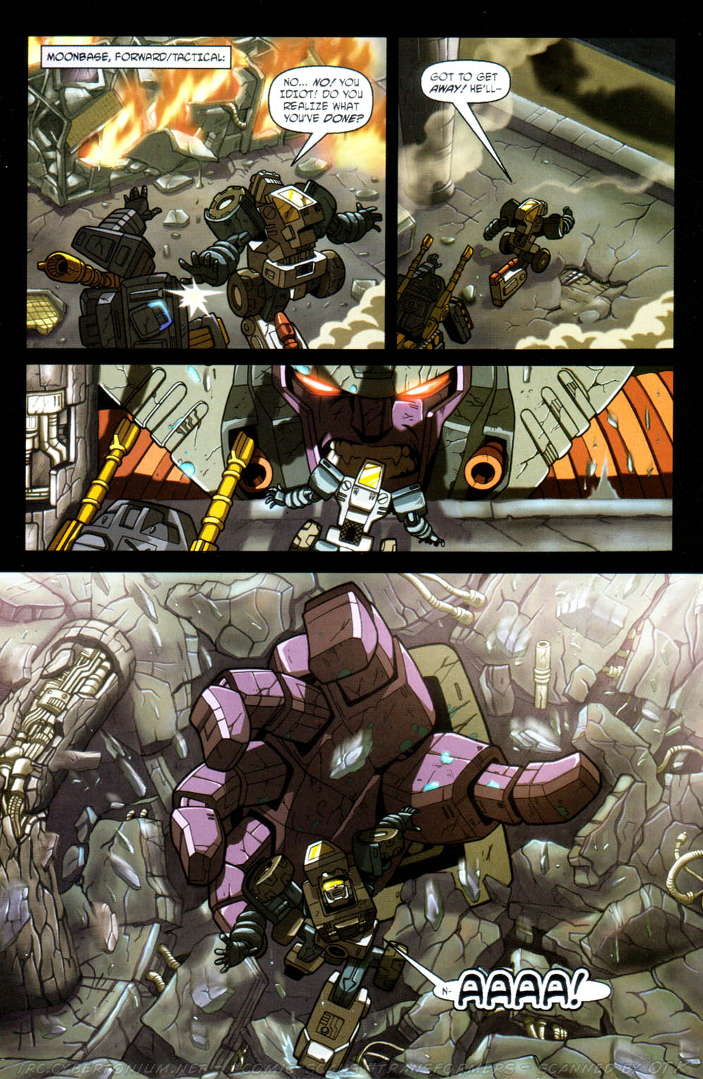 Read online Transformers Armada comic -  Issue #11 - 22