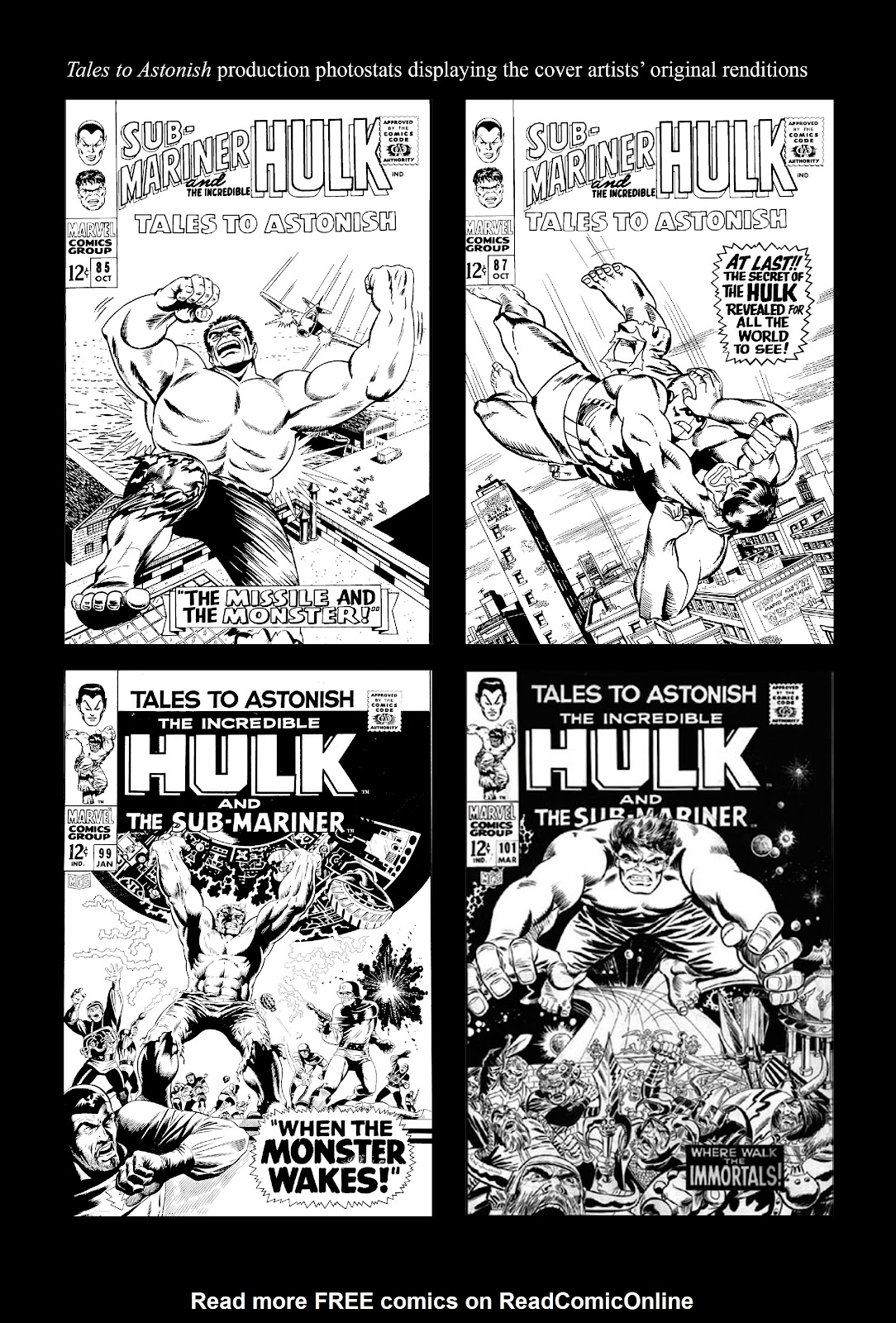Read online Marvel Masterworks: The Incredible Hulk comic -  Issue # TPB 3 (Part 3) - 84
