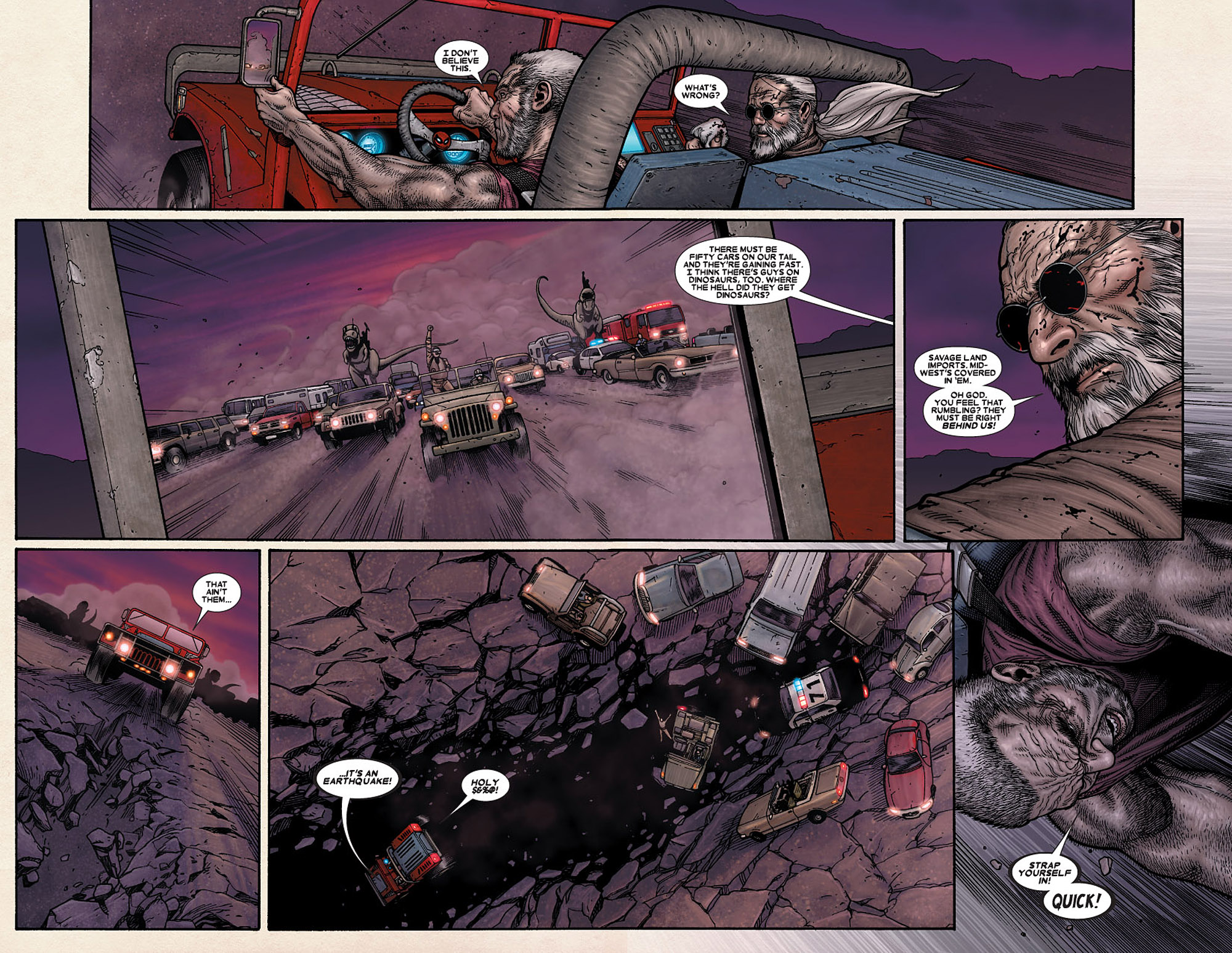 Read online Wolverine: Old Man Logan comic -  Issue # Full - 77