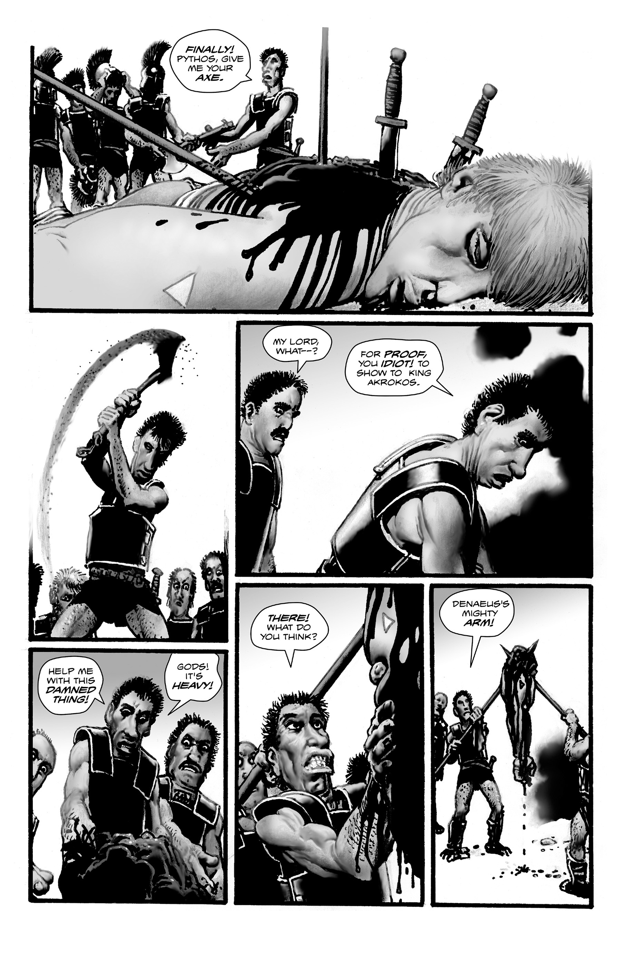 Read online Shadows on the Grave comic -  Issue #4 - 30