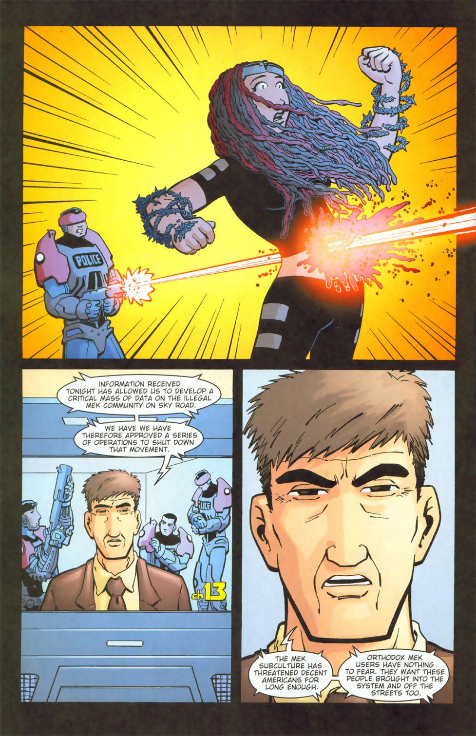 Read online Mek comic -  Issue #3 - 17