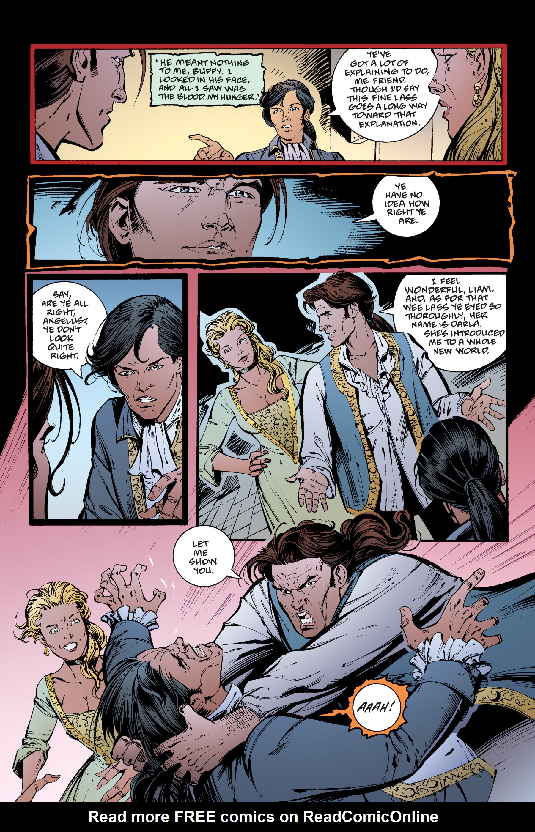 Read online Buffy the Vampire Slayer: Omnibus comic -  Issue # TPB 4 - 235