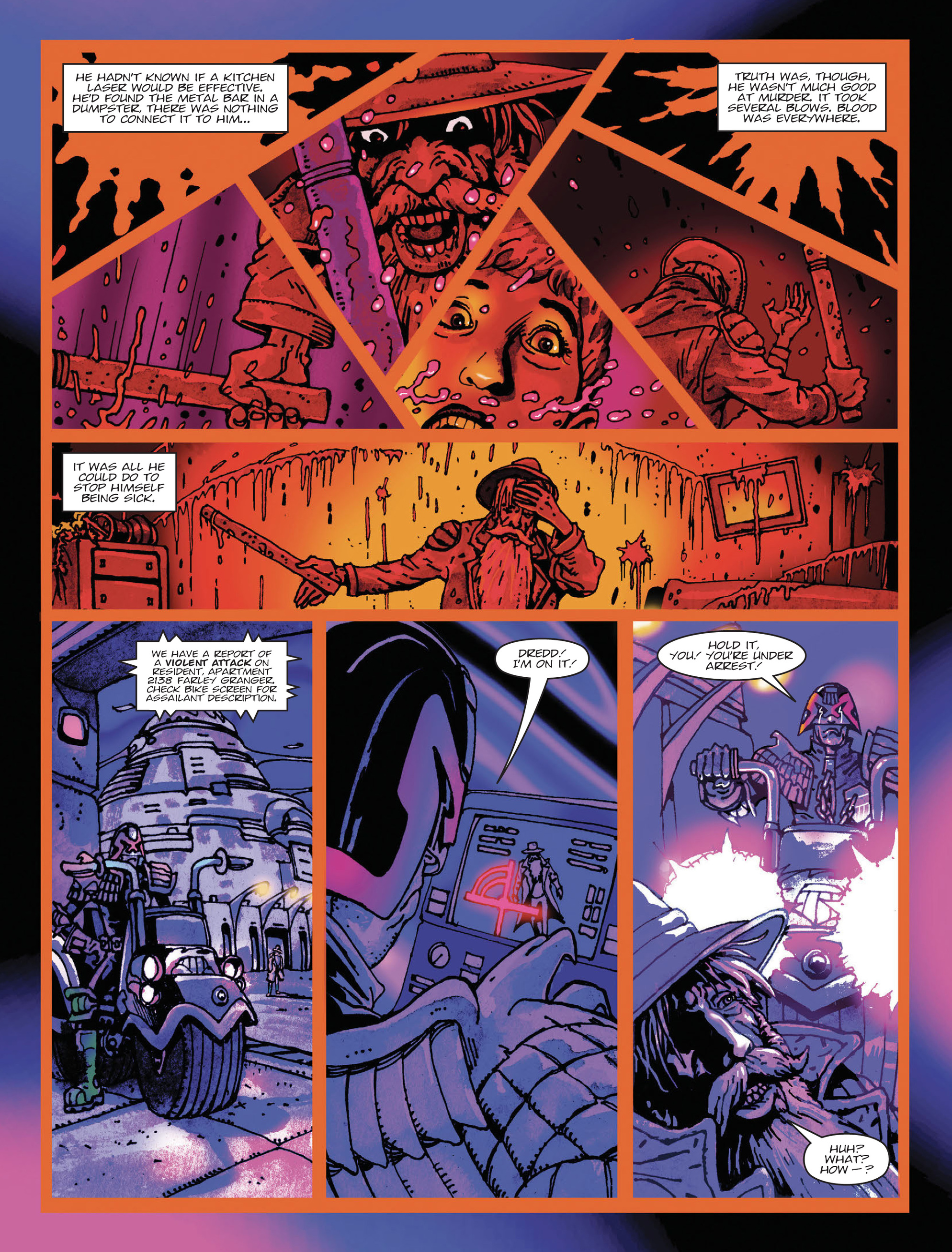Read online 2000 AD comic -  Issue #2000 AD _Sci-Fi Special 2016 - 6