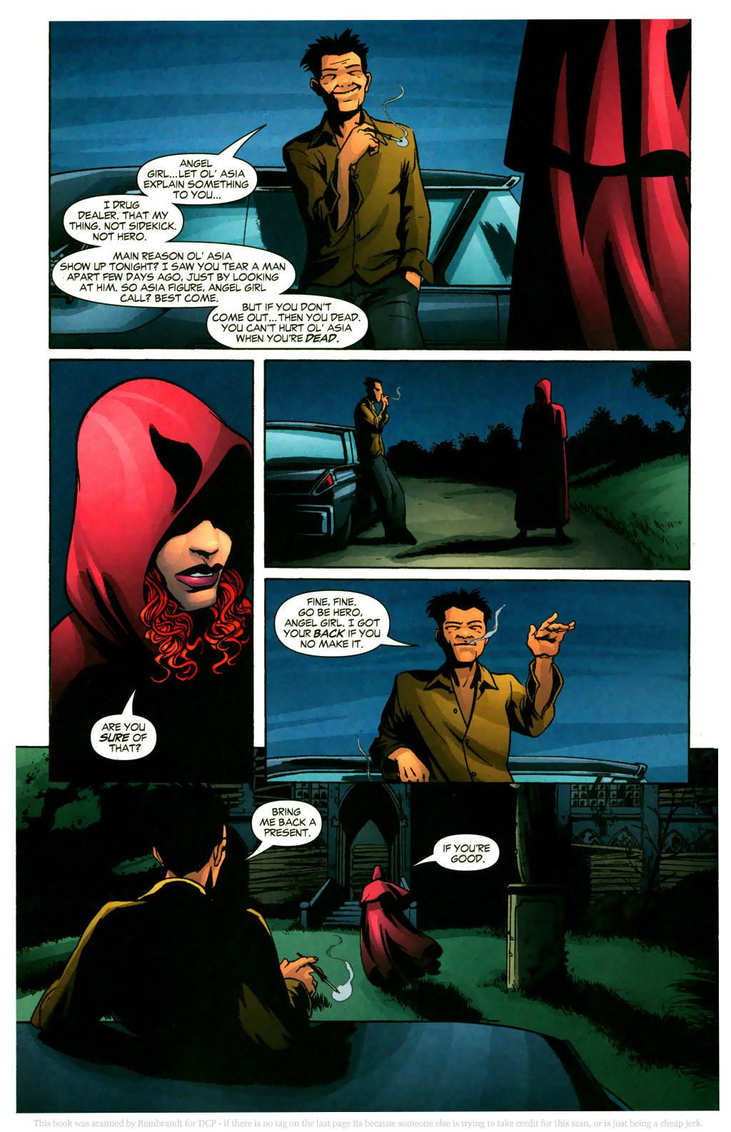 Read online Fallen Angel (2003) comic -  Issue #9 - 6