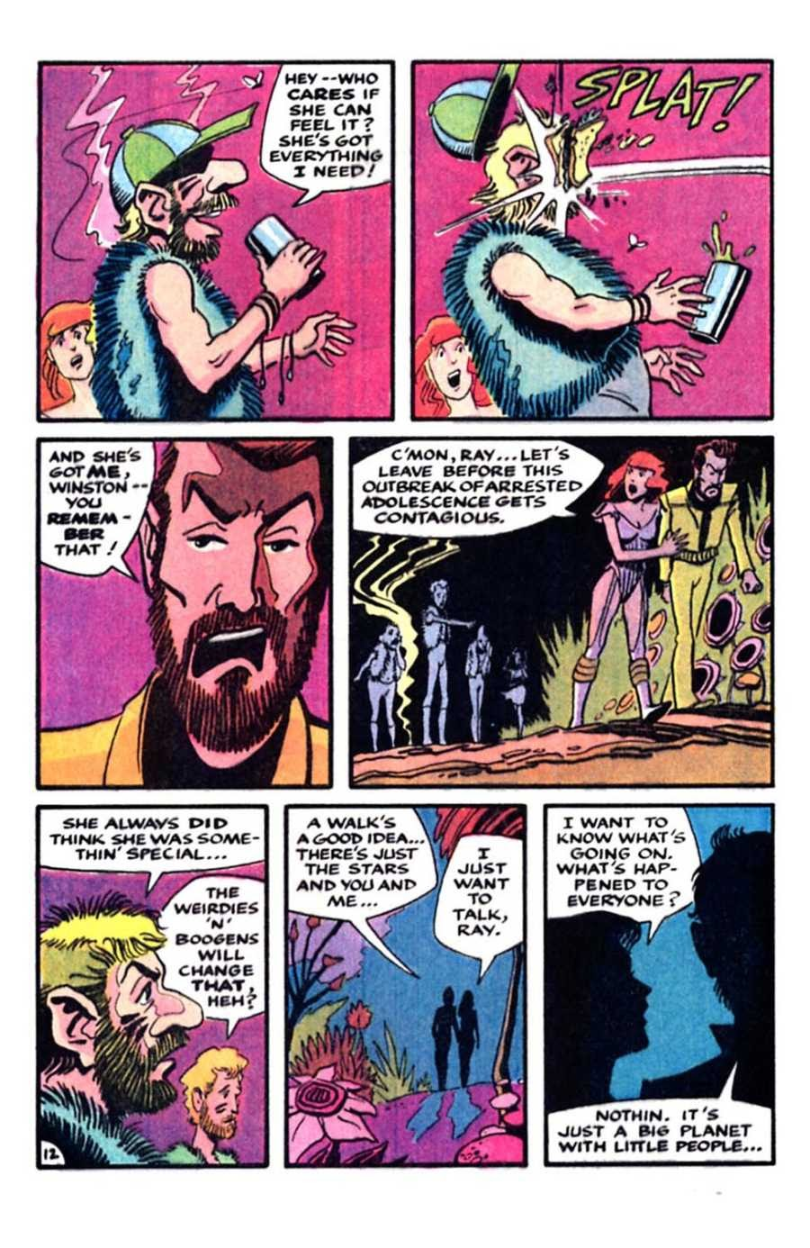 Read online Mars comic -  Issue #5 - 14