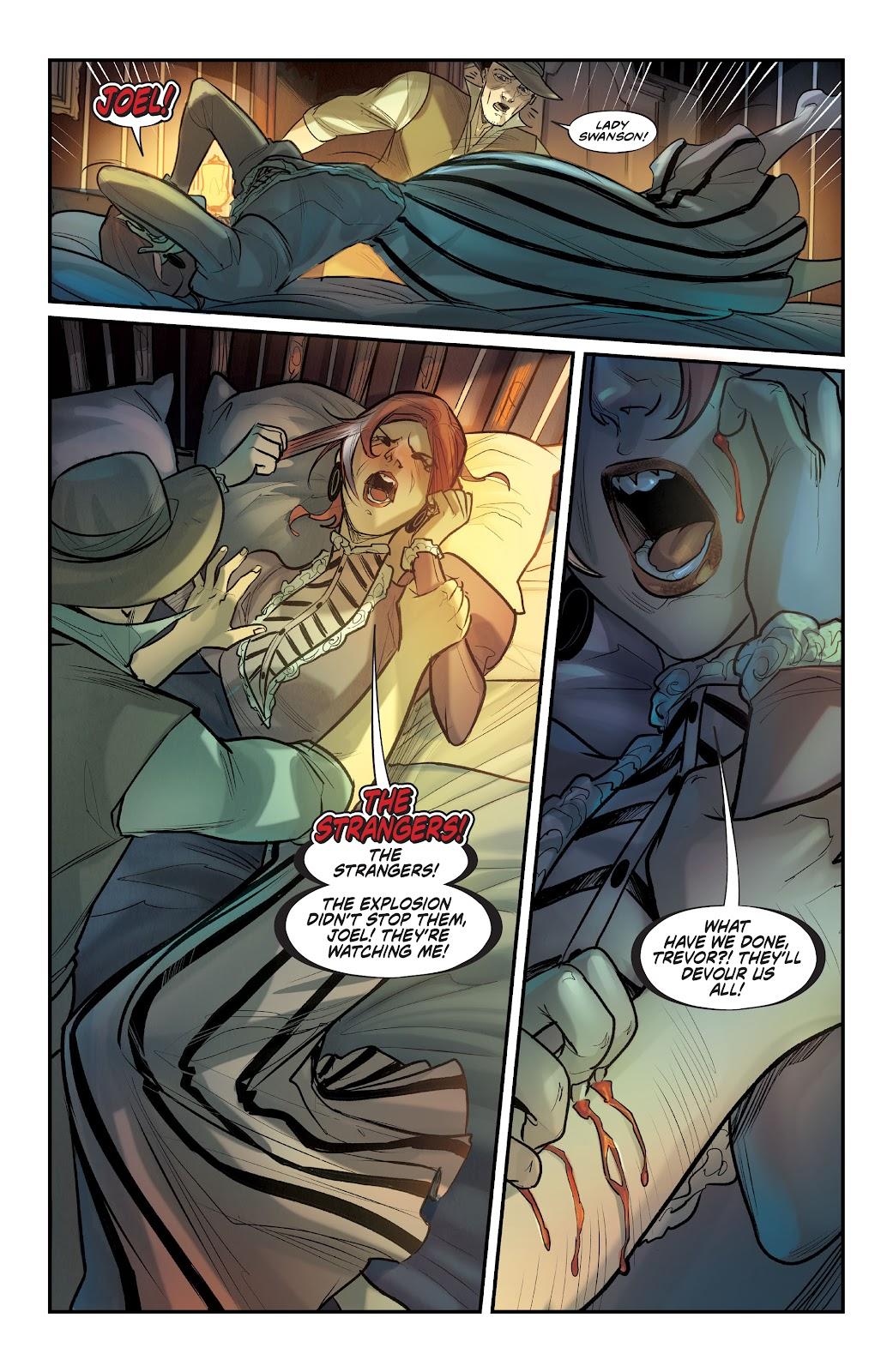 Read online Mirka Andolfo's Mercy comic -  Issue #1 - 24