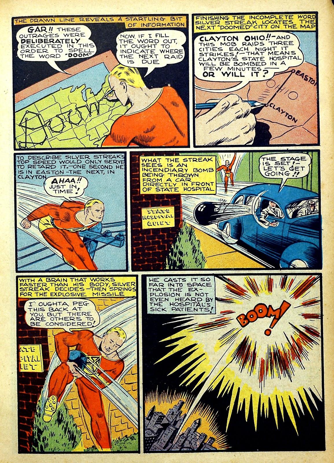 Read online Silver Streak Comics comic -  Issue #22 - 19