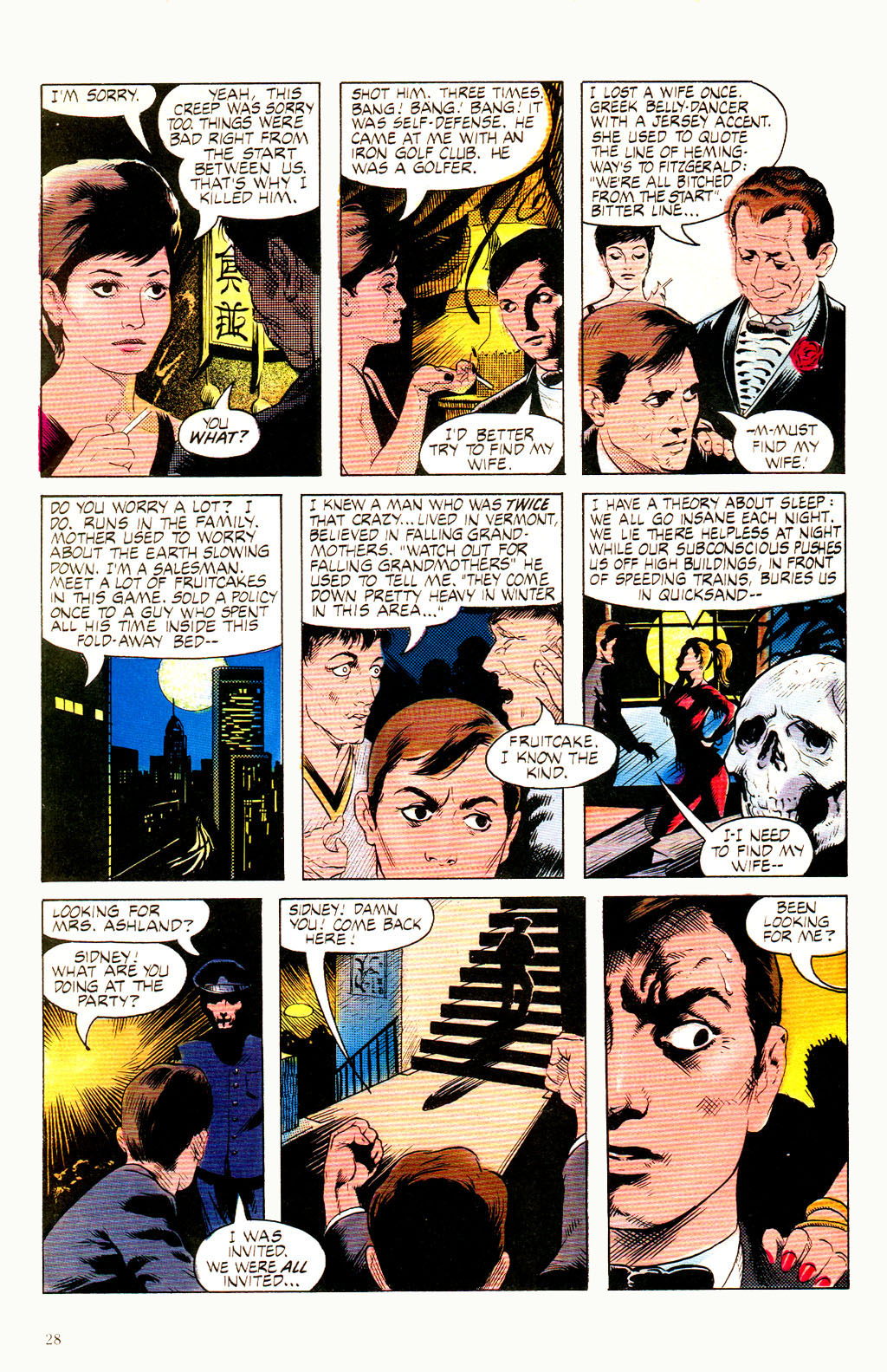Read online Twisted Tales (1982) comic -  Issue #8 - 30