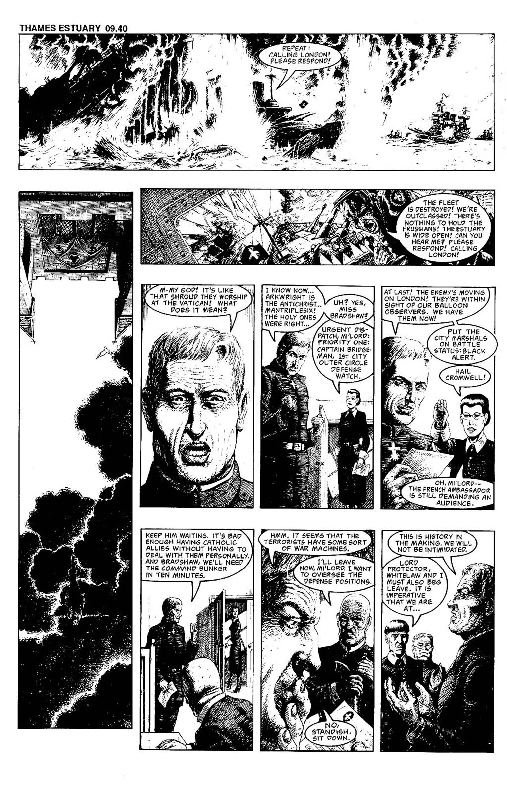 Read online The Adventures of Luther Arkwright comic -  Issue #7 - 24