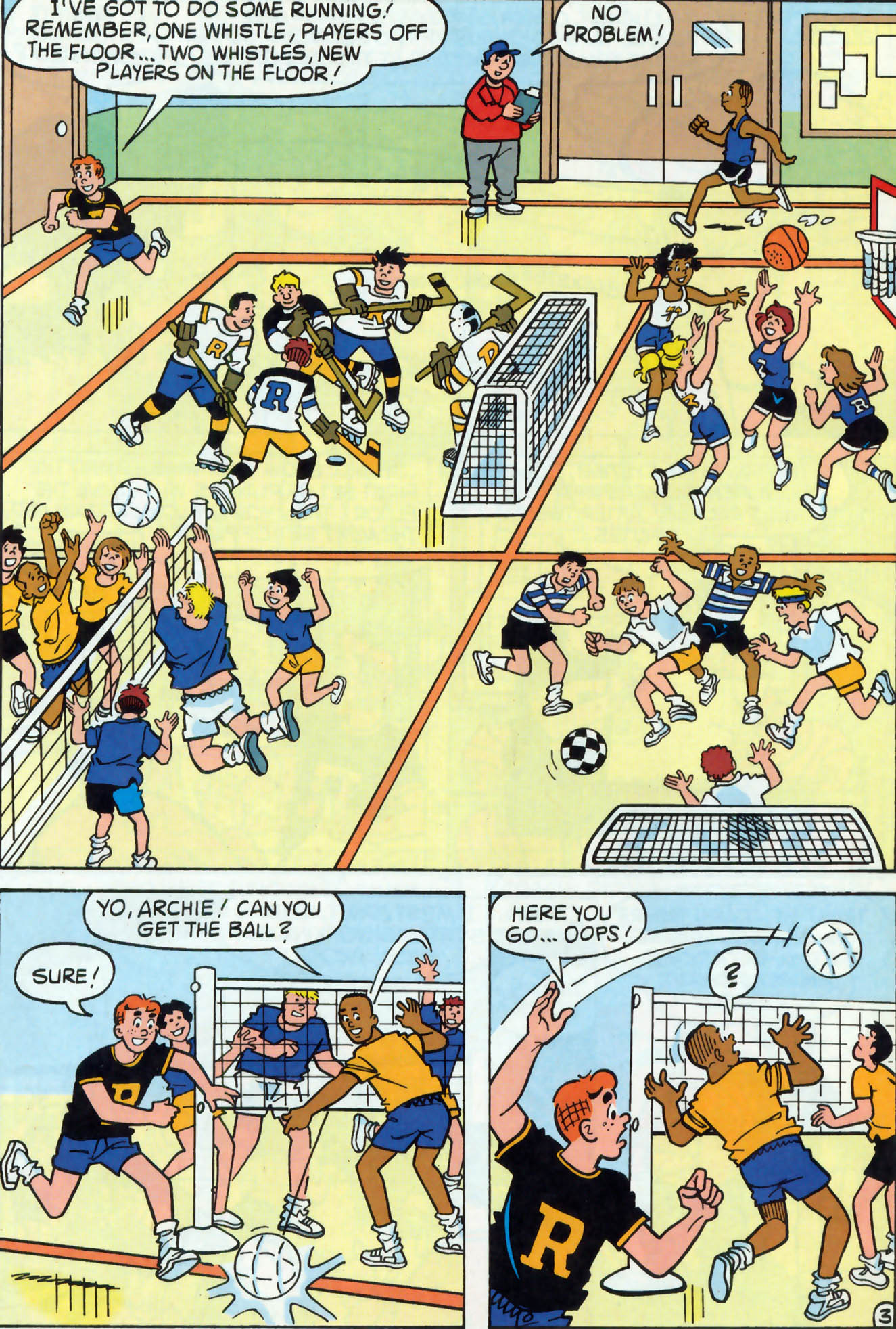 Read online Archie (1960) comic -  Issue #465 - 17