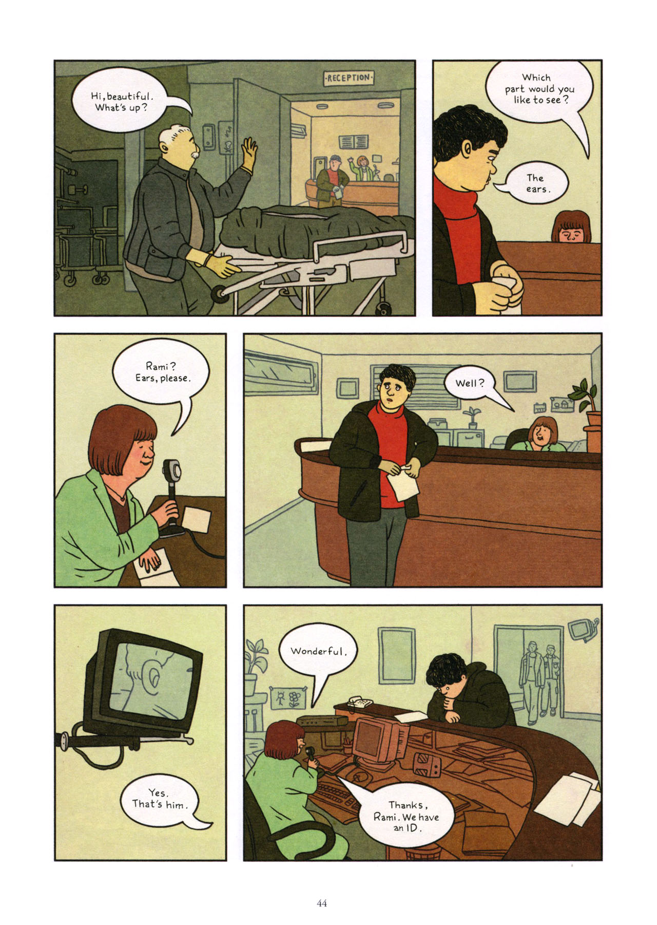 Read online Exit Wounds comic -  Issue # TPB - 45