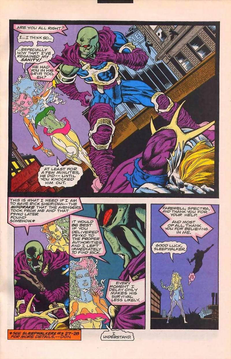 Read online Sleepwalker comic -  Issue #32 - 21